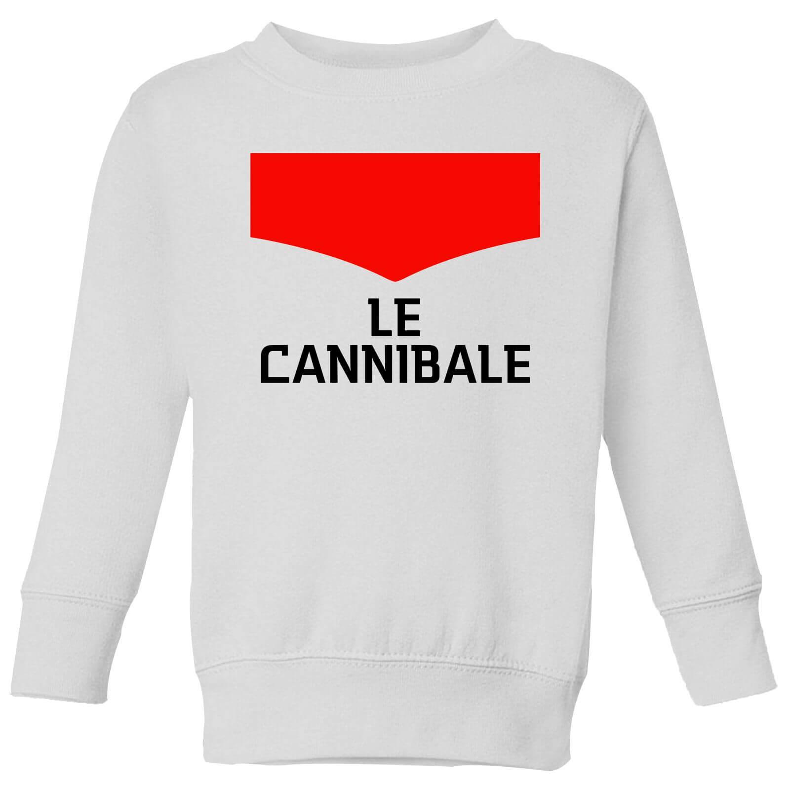 Summit Finish Le Cannibale Kids' Sweatshirt - White - 3-4 Years - White