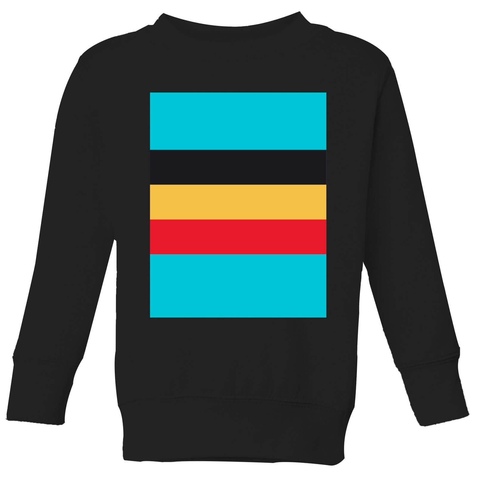 Summit Finish Belgium Flag Kids' Sweatshirt - Black - 3-4 Years - Black