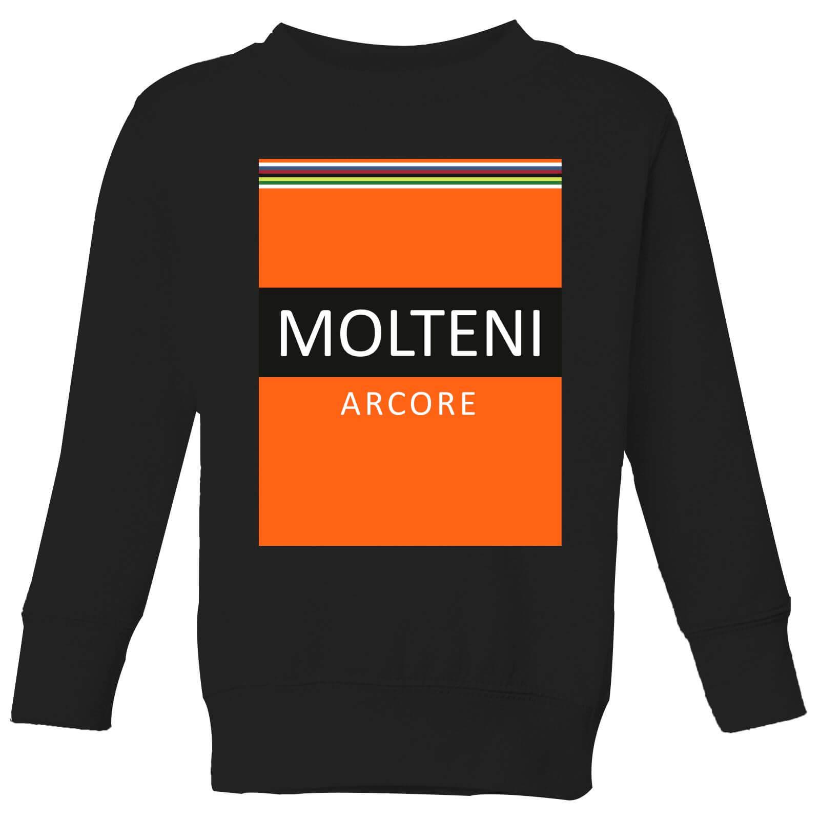Summit Finish Molteni Kids' Sweatshirt - Black - 3-4 Jahre - Schwarz