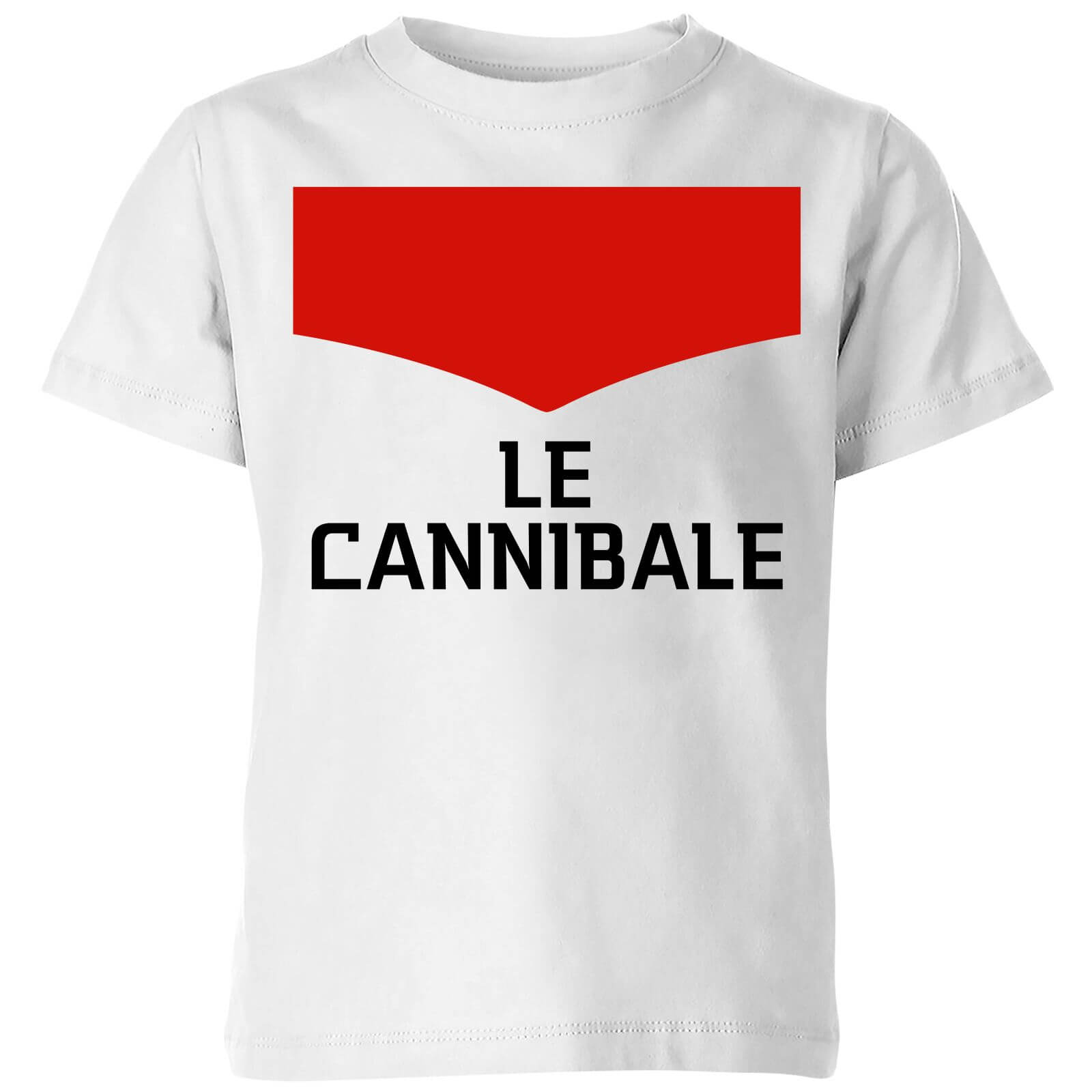 Summit Finish Le Cannibale Kids' T-Shirt - White - 11-12 Years - White