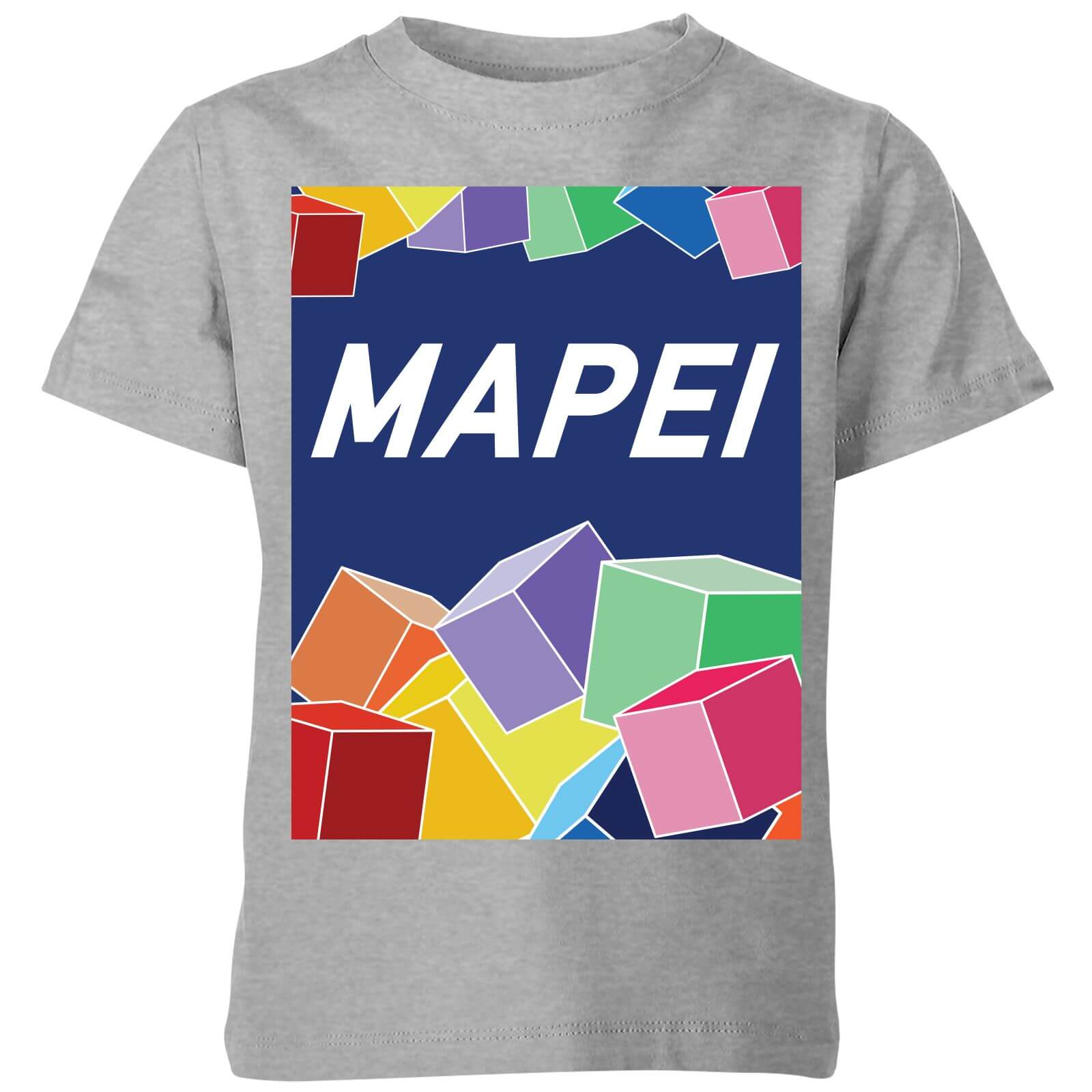 Summit Finish Mapei Kids' T-Shirt - Grey - 11-12 Jahre - Grau