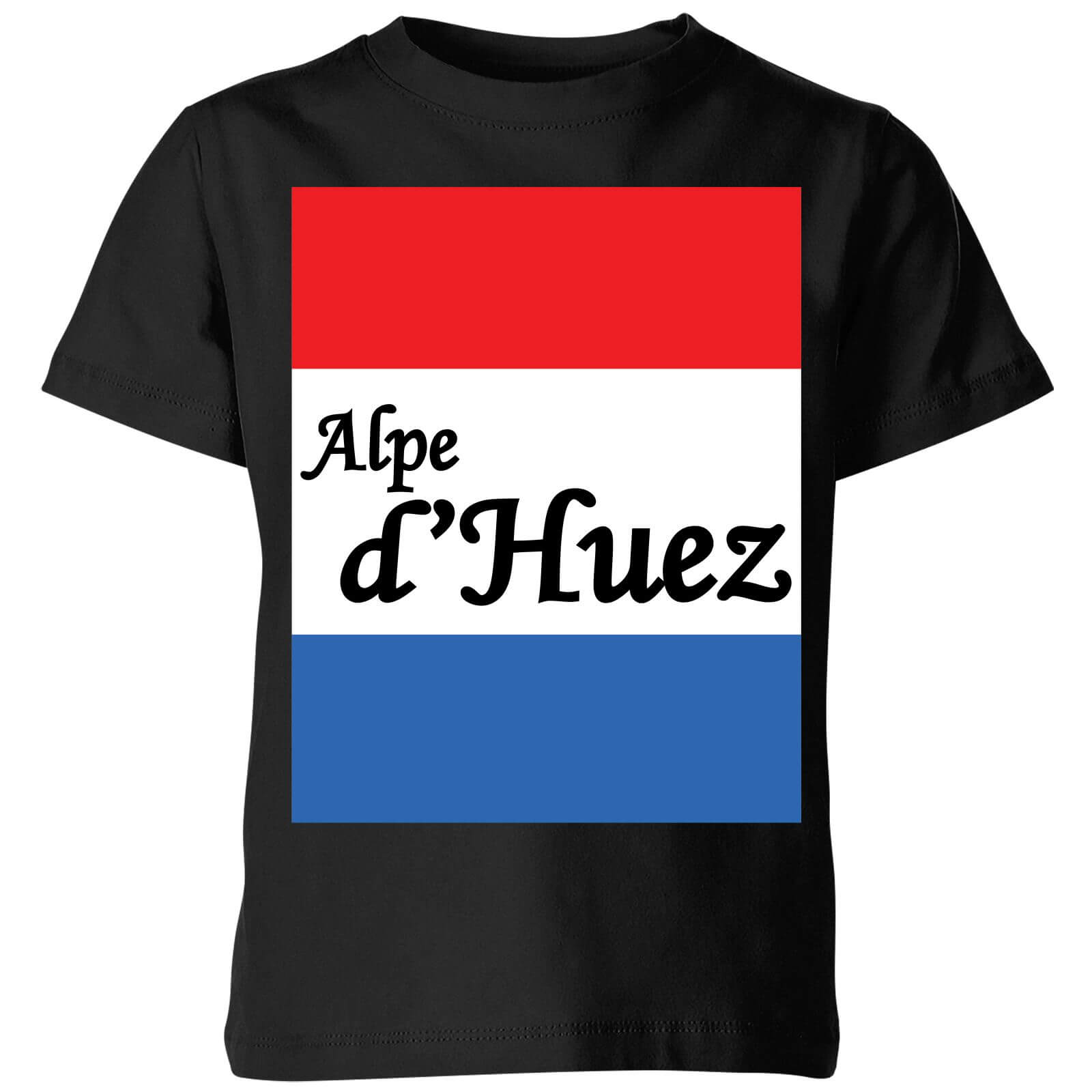 Summit Finish Alpe Dhuez Kids T-shirt - Black - 7-8 Years - Black