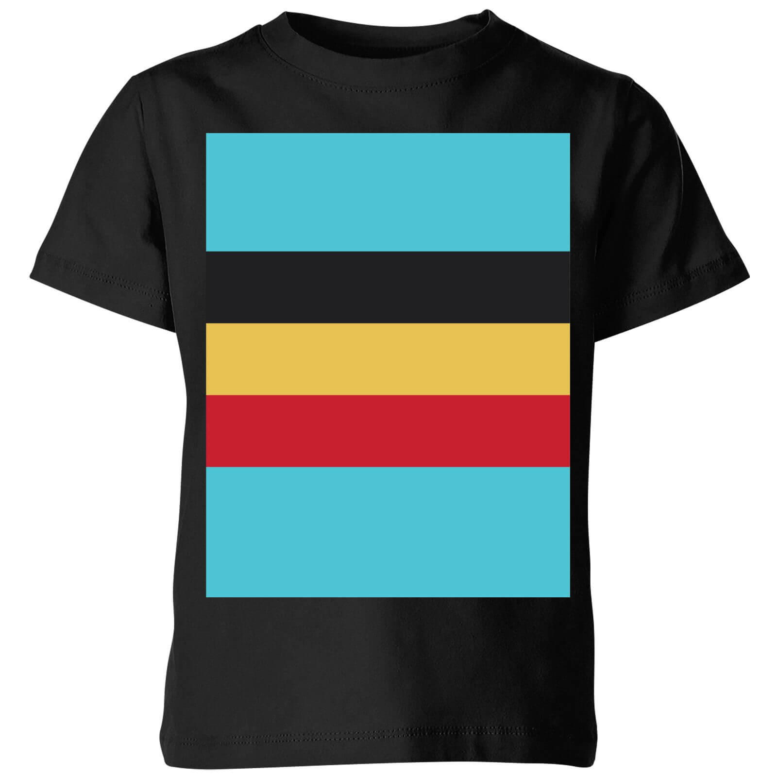 Summit Finish Belgium Flag Kids T-shirt - Black - 5-6 Years - Black