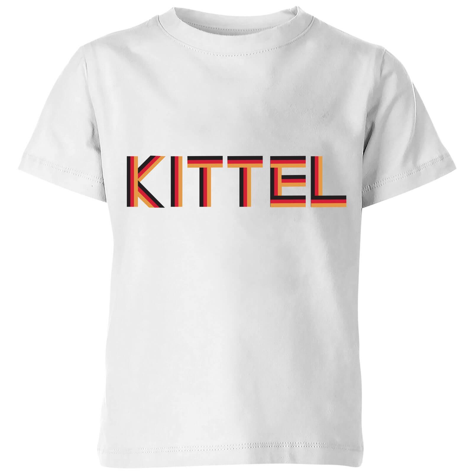 Summit Finish Kittel - Rider Name Kids' T-Shirt - White - 7-8 Years - White