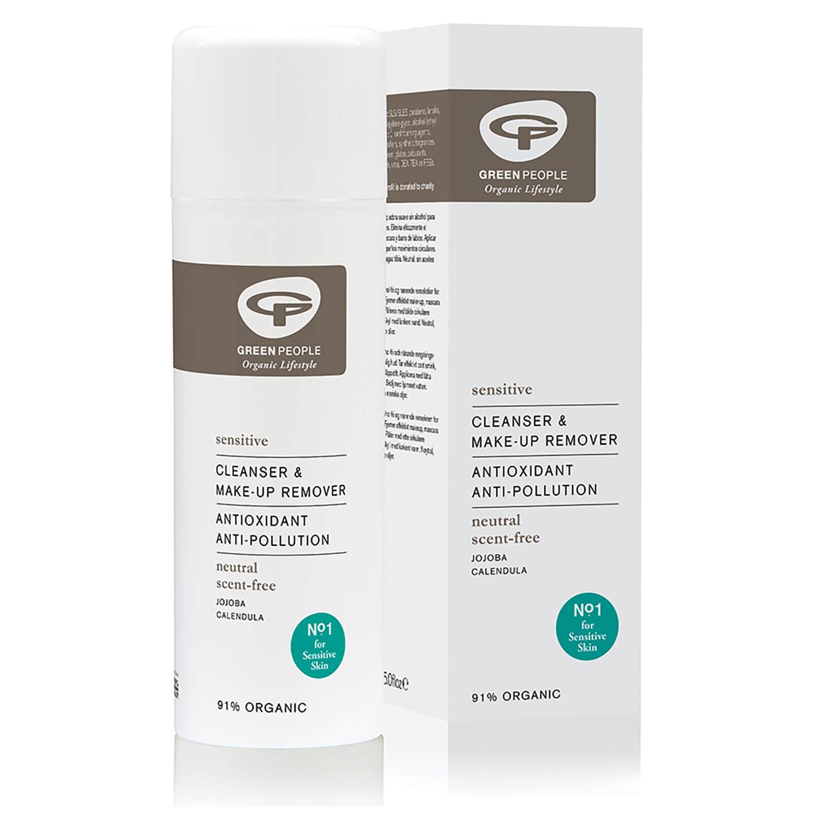 Купить Очищающее средство для снятия макияжа Green People Neutral/Scent Free Cleanser and Make Up Remover 150 мл