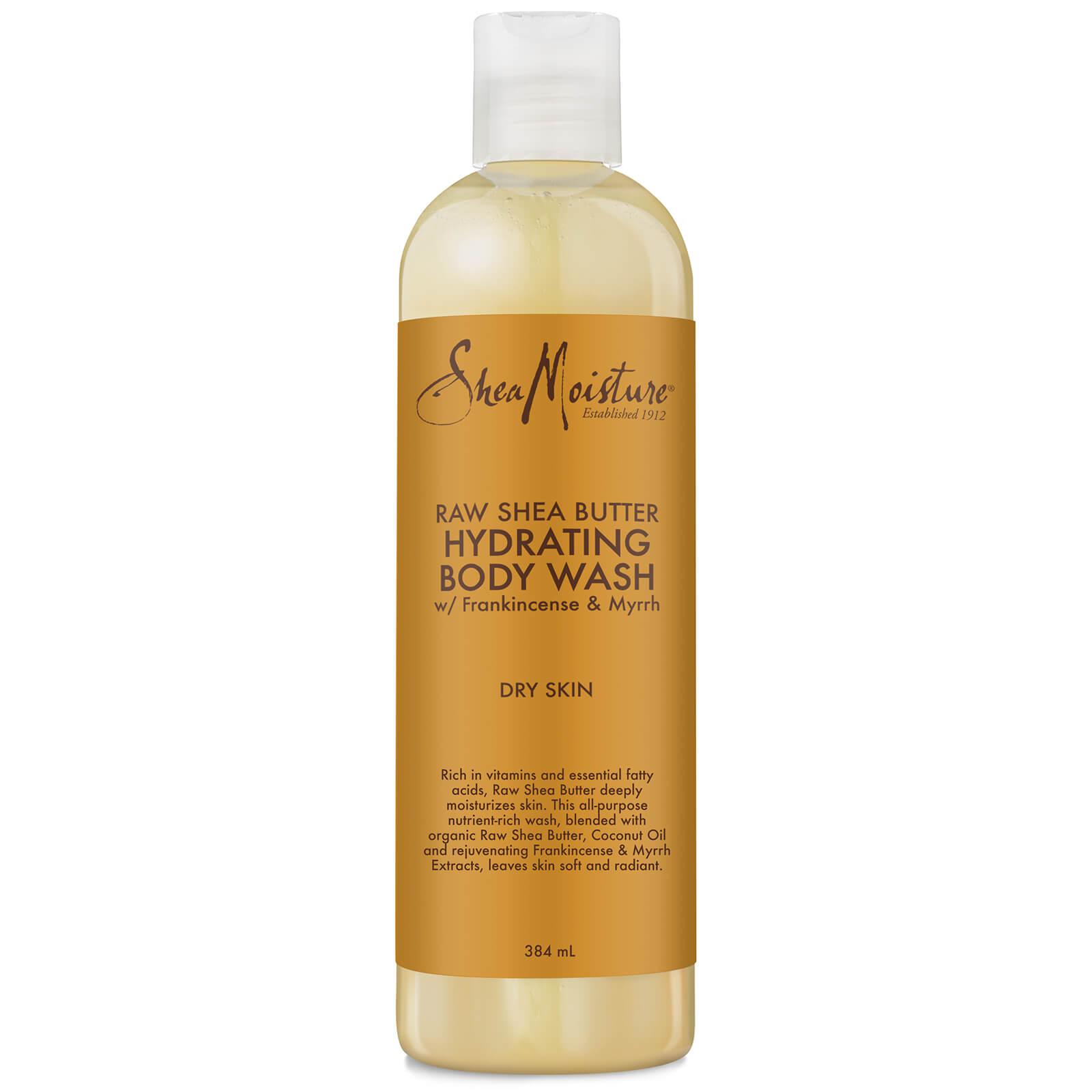 shea moisture raw shea butter hydrating body wash 384ml