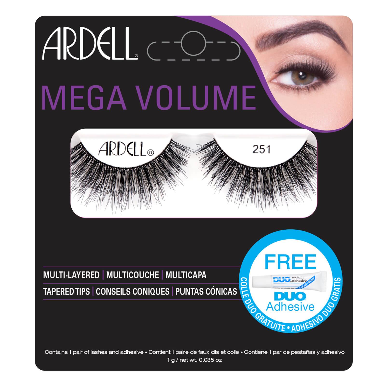 Купить Накладные ресницы Ardell False Lashes Mega Volume 251