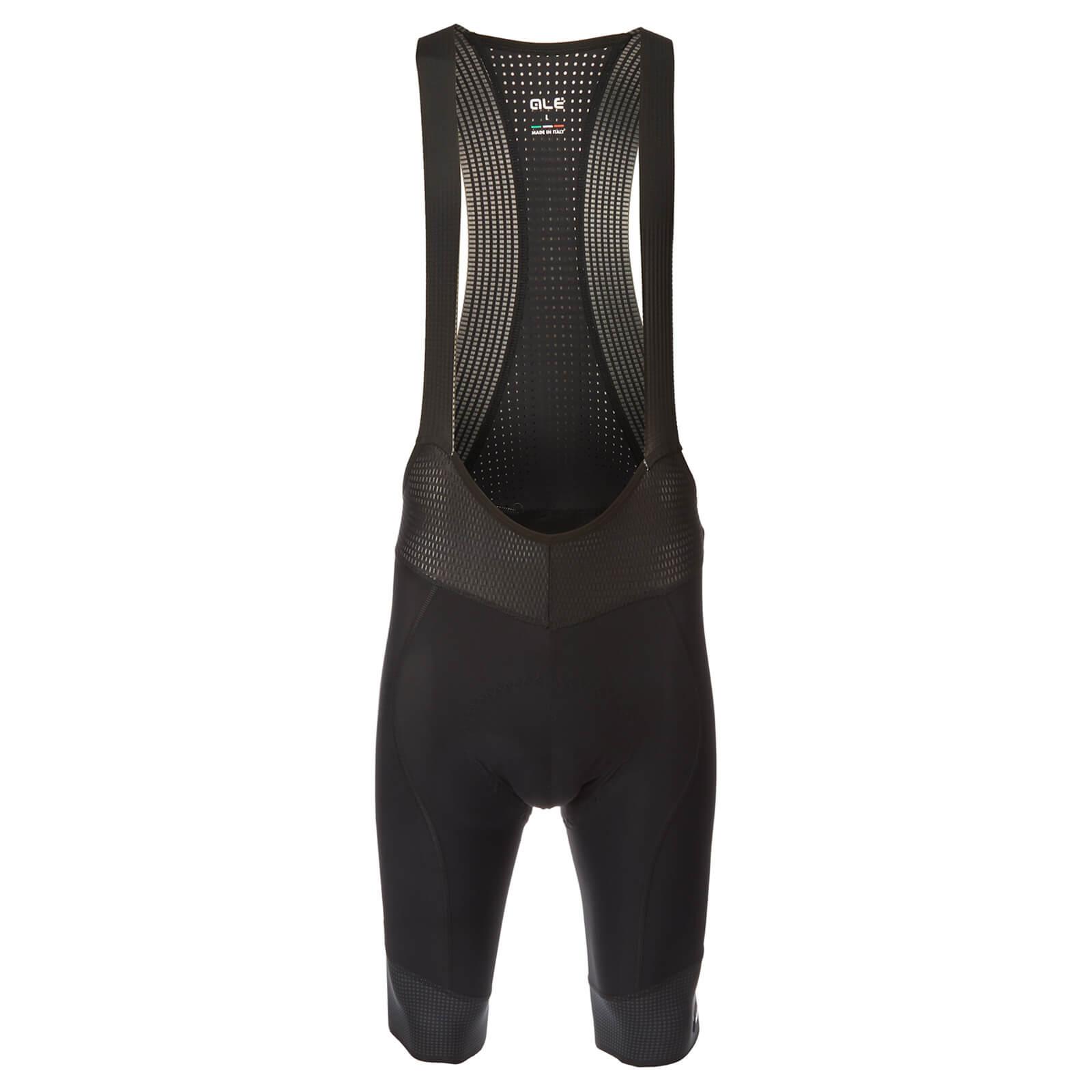 Alé PRS Master Bib Shorts - M - Black/Charcoal