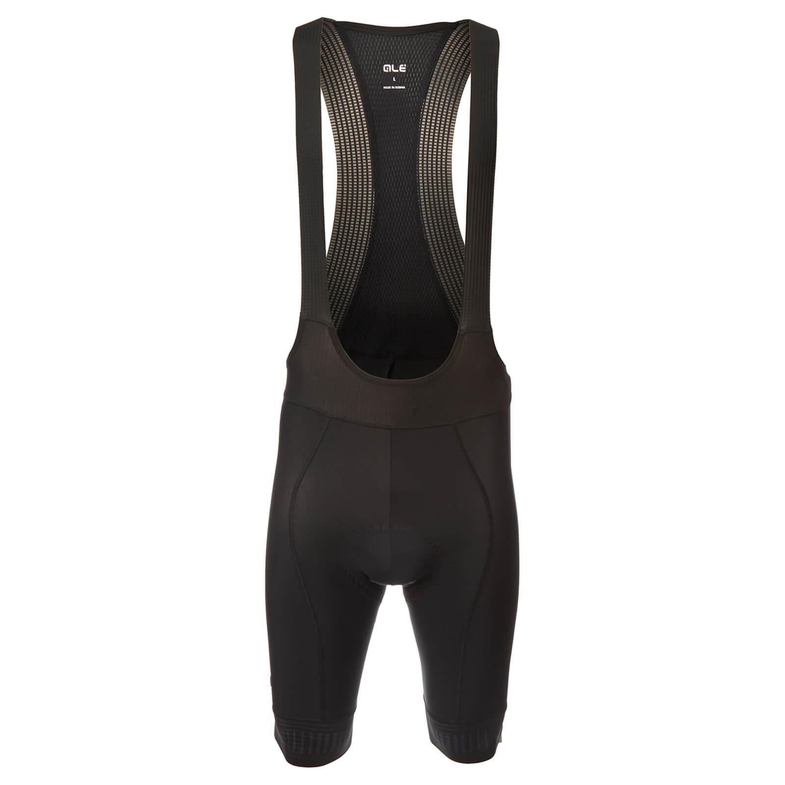 Alé PRR Strada Bib Shorts - XXL - Black/Charcoal