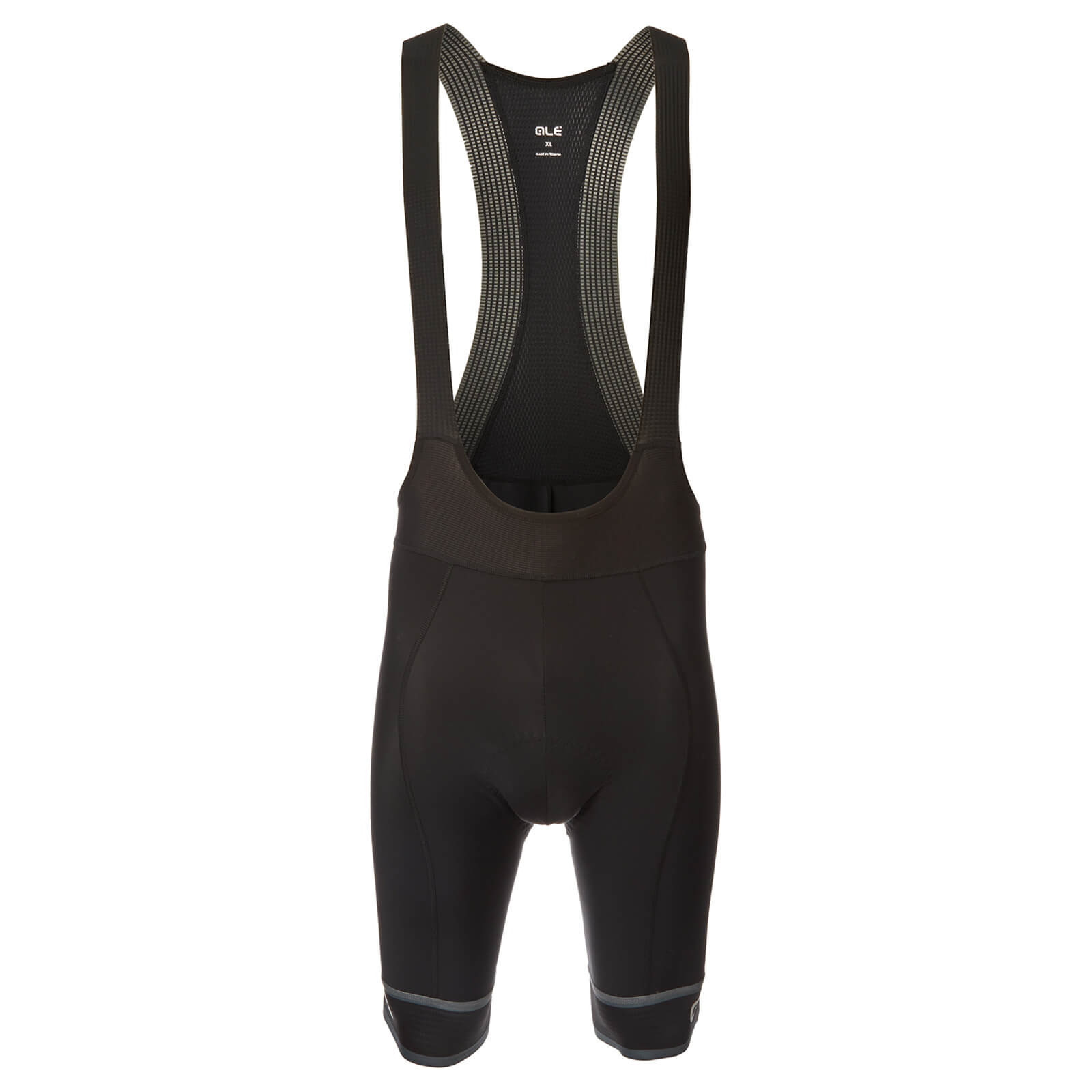 Alé Sella Bib Shorts - XL - Black/White