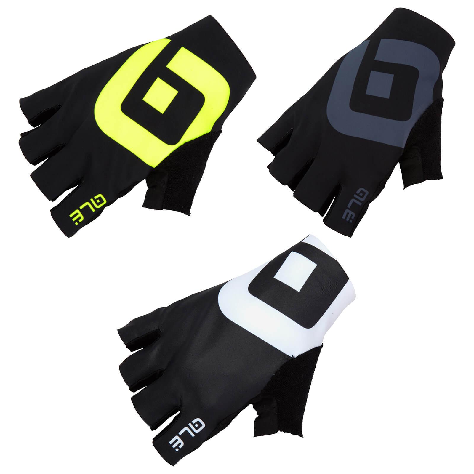 Alé Air Gloves - S - Black/Red