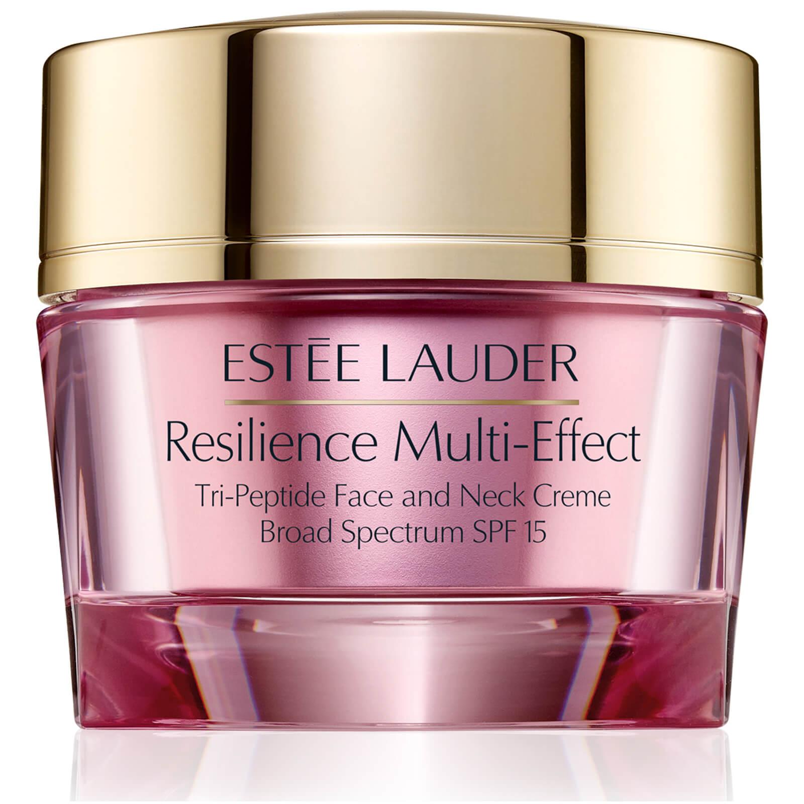Estée Lauder Resilience Multi-Effect Tri-Peptide Face and Neck Crème SPF15 for Dry Skin 50ml
