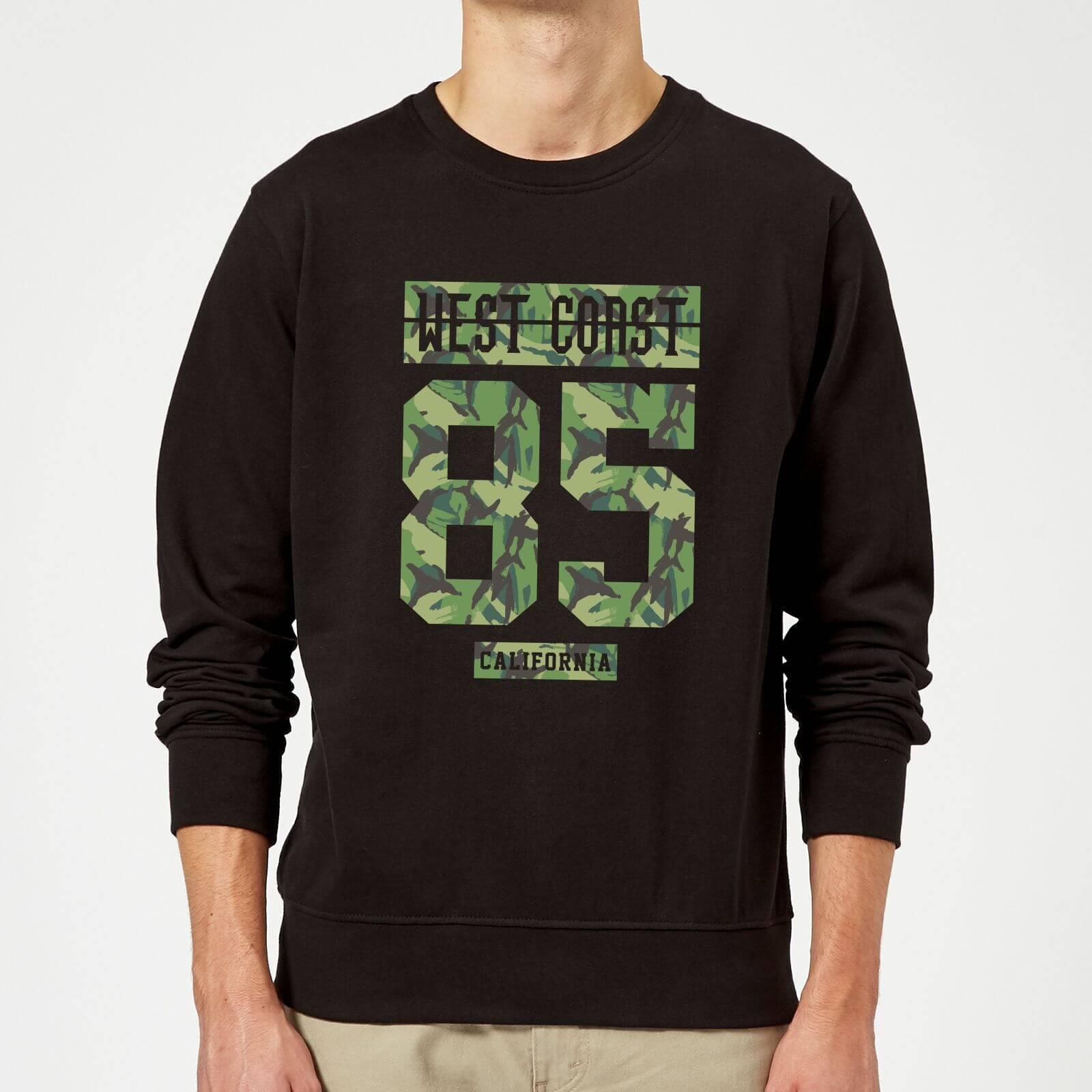 Camo West Coast Sweatshirt - Black - XL - Black