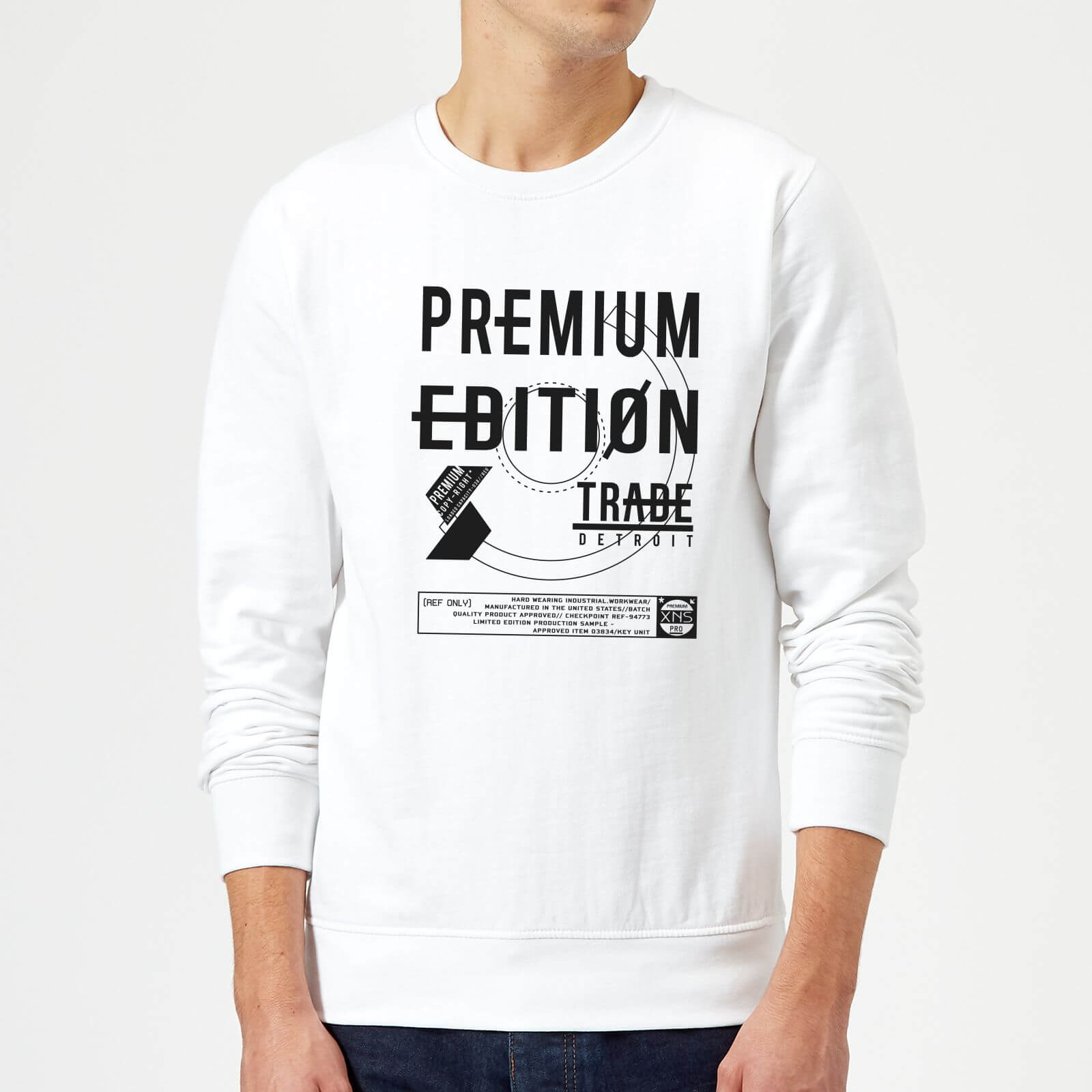 Divide & Conquer Premium Edition Sweatshirt - White - M - White