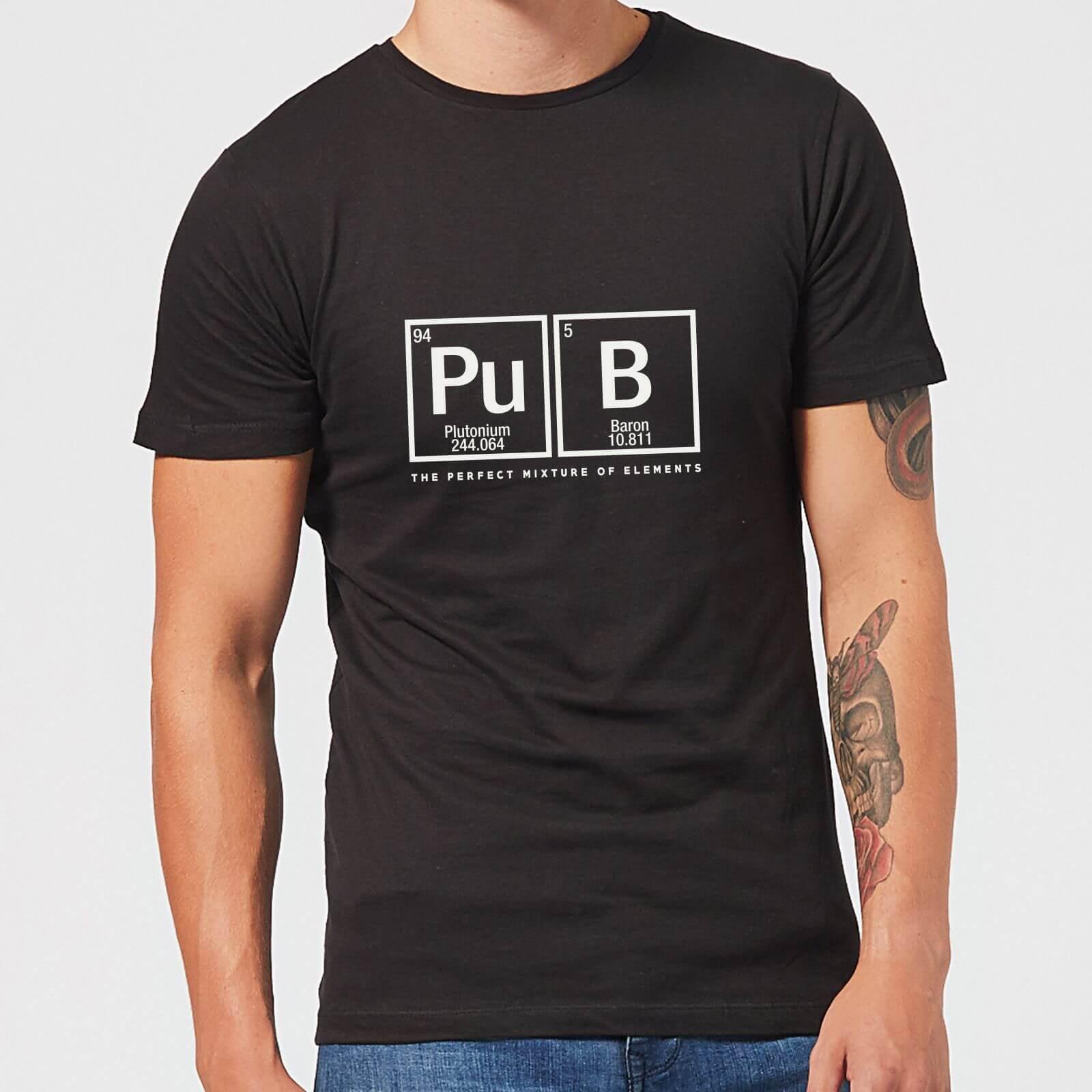 Perfect Elements Men's T-Shirt - Black - 4XL - Schwarz