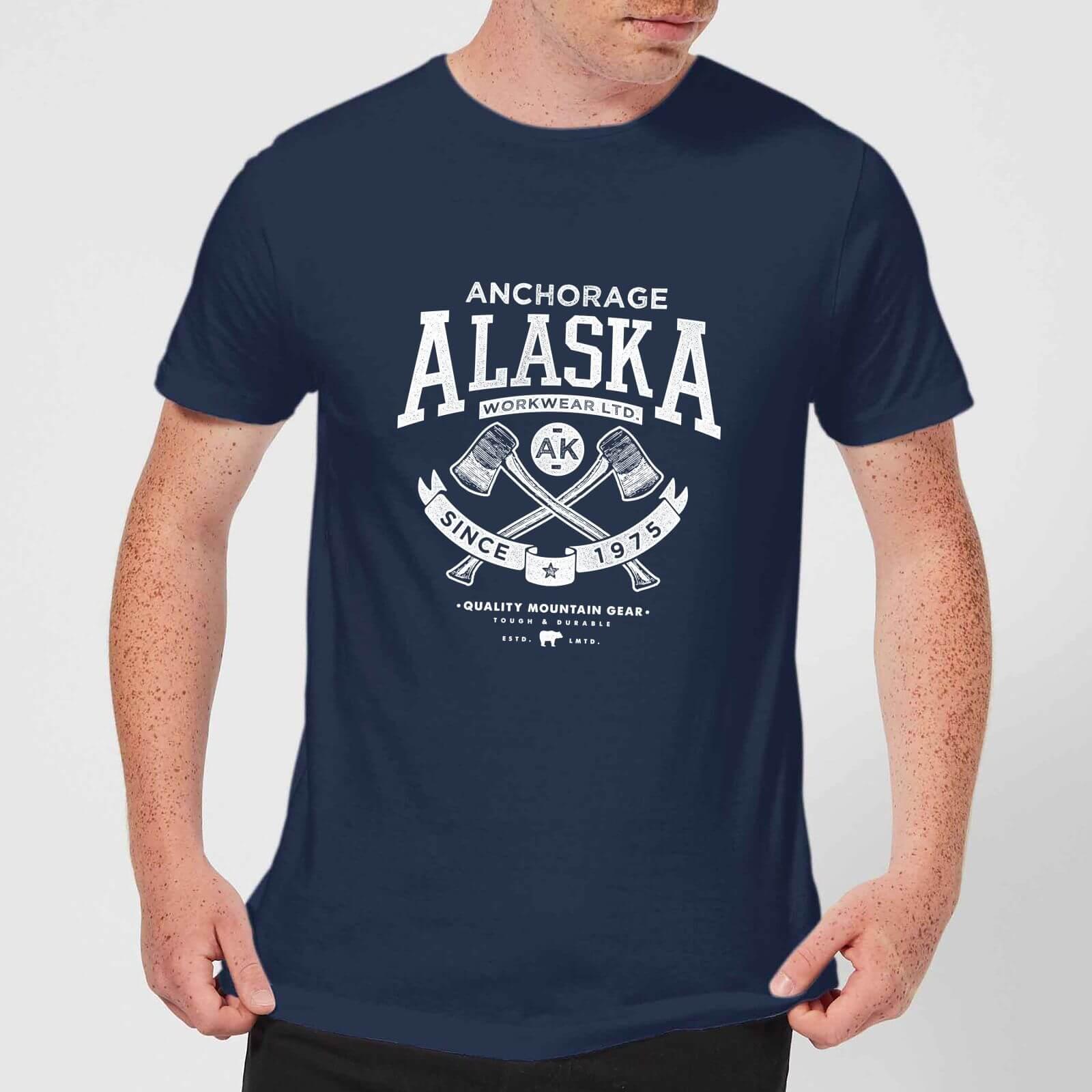 Alaska Men's T-Shirt - Navy - S - Marineblau