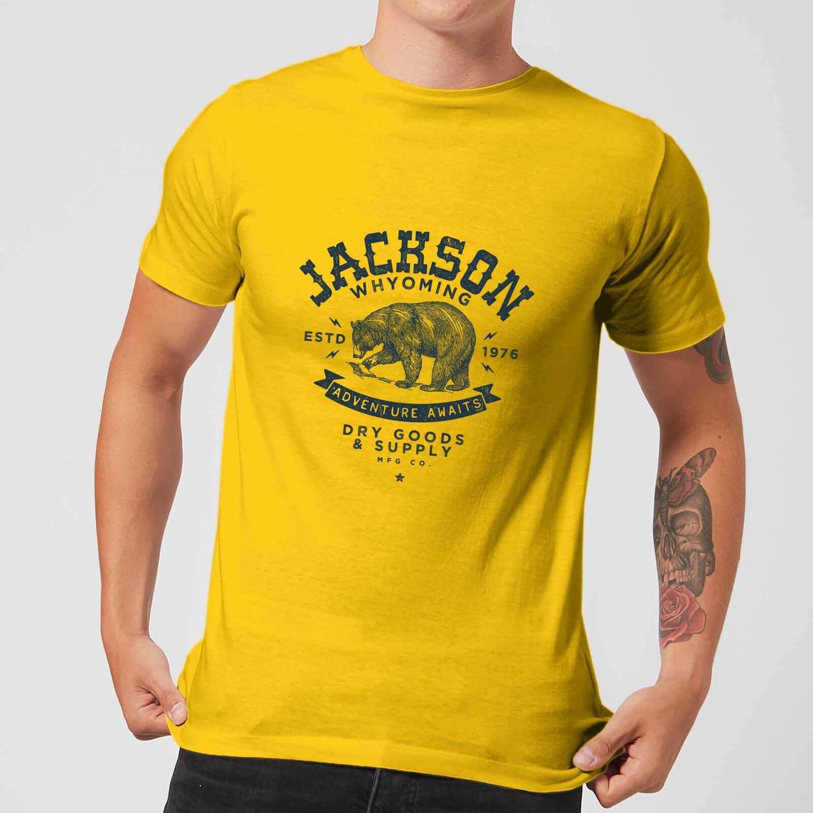 Jackson Men's T Shirt Yellow XS Geel
