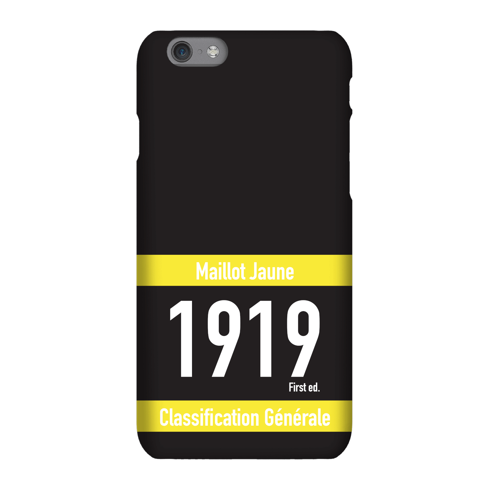 Maillot Jaune Phone Case for iPhone and Android - iPhone 6 Plus - Tough Case - Gloss