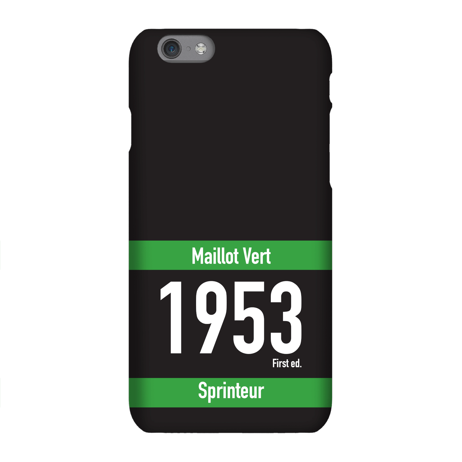Maillot Vert Phone Case for iPhone and Android - iPhone 8 Plus - Snap Case - Gloss