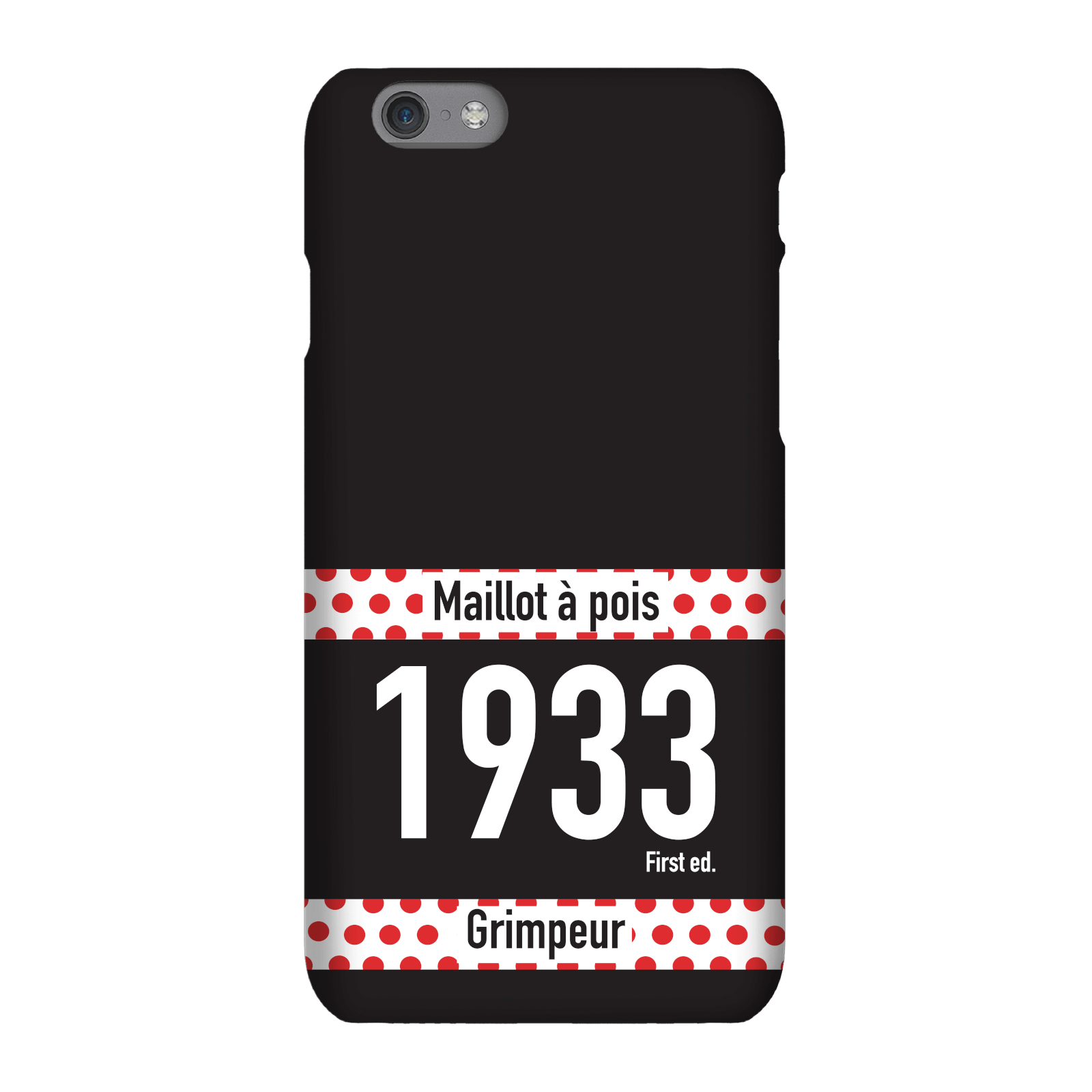Maillot A Pois Phone Case For Iphone And Android - Samsung S6 - Snap Case - Gloss