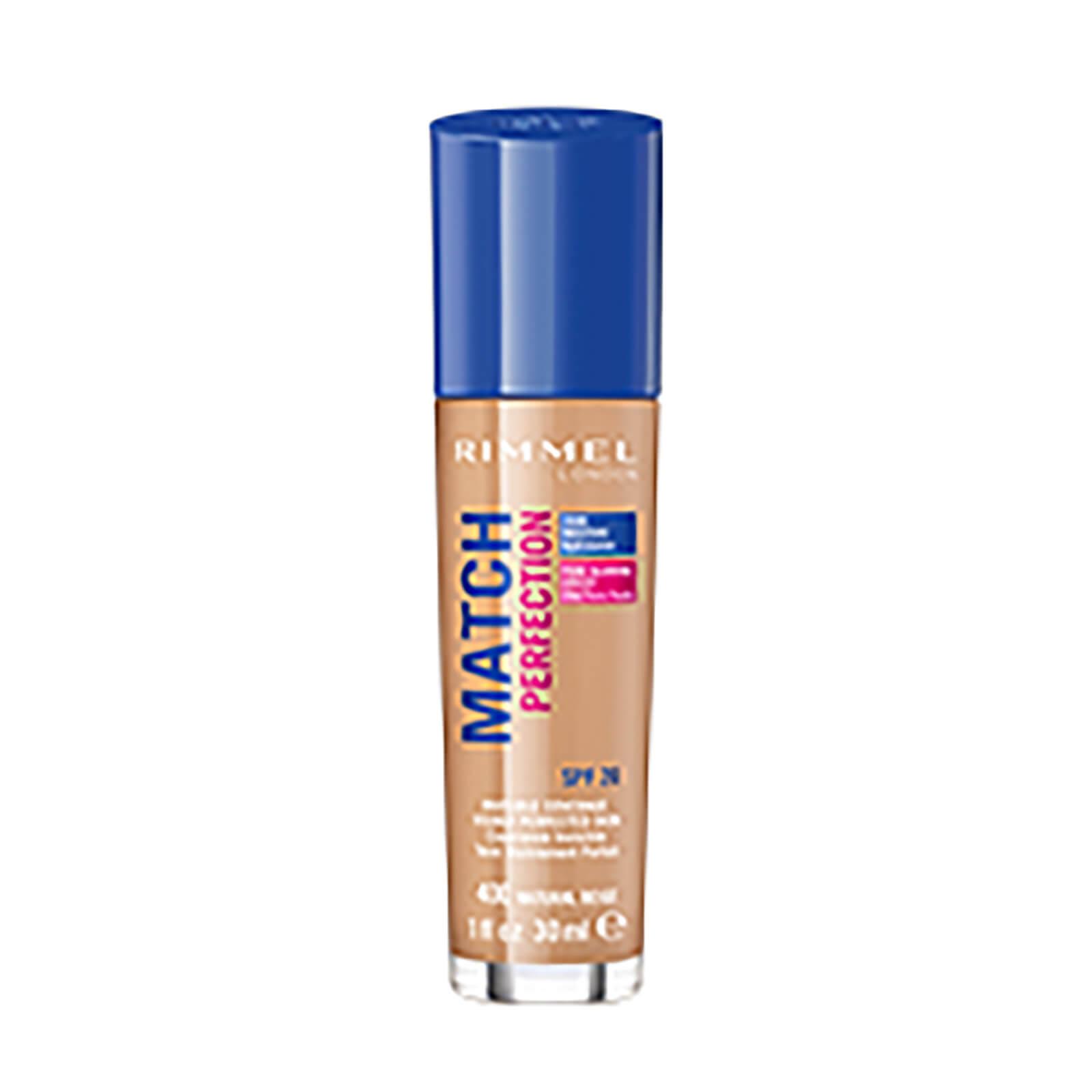 Купить Основа под макияж Rimmel Match Perfection Foundation (различных оттенков) - Natural Beige