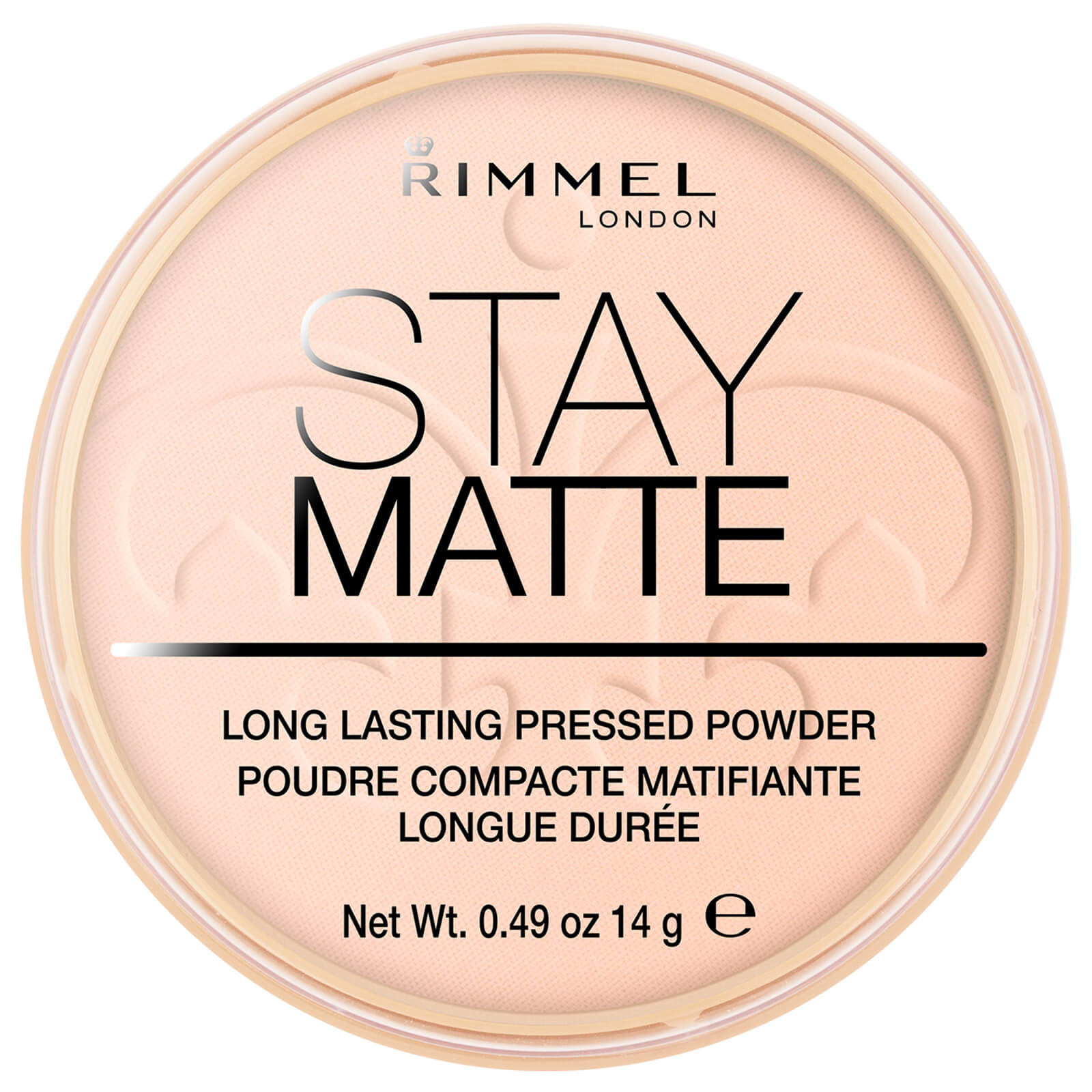rimmel stay matte pressed powder (various shades) - pink blossom