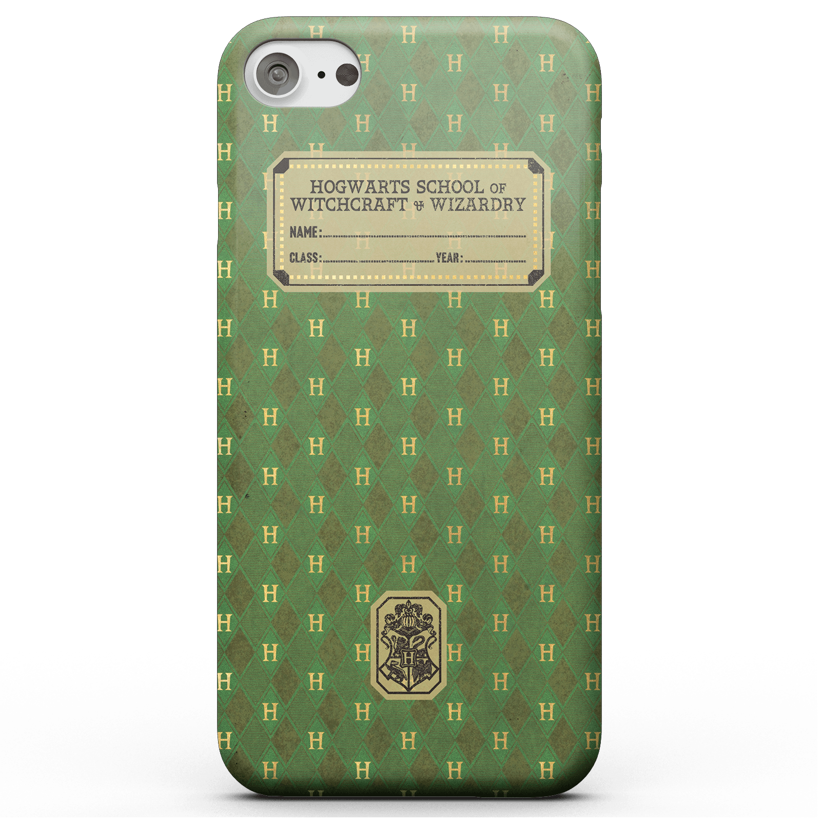 Harry Potter Slytherin Text Book Phone Case for iPhone and Android - iPhone 7 - Tough Case - Gloss