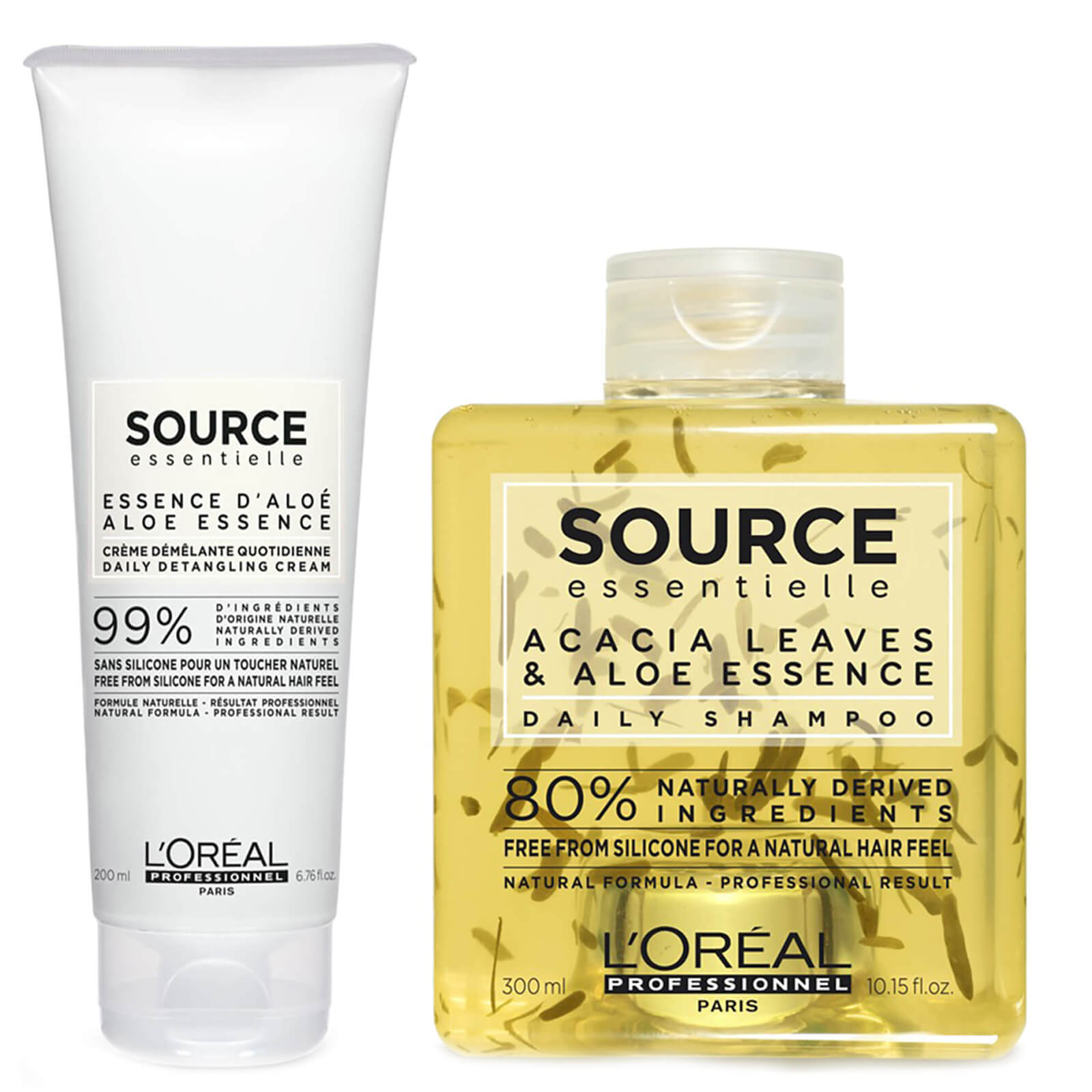 L'Oréal Professionnel Source Essentielle Daily Shampoo and Detangling Hair Cream Duo