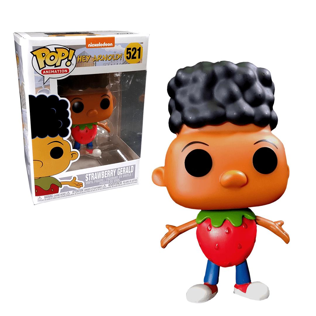 Nickelodeon Hey Arnold Strawberry Gerald EXC Pop! Vinyl Figure