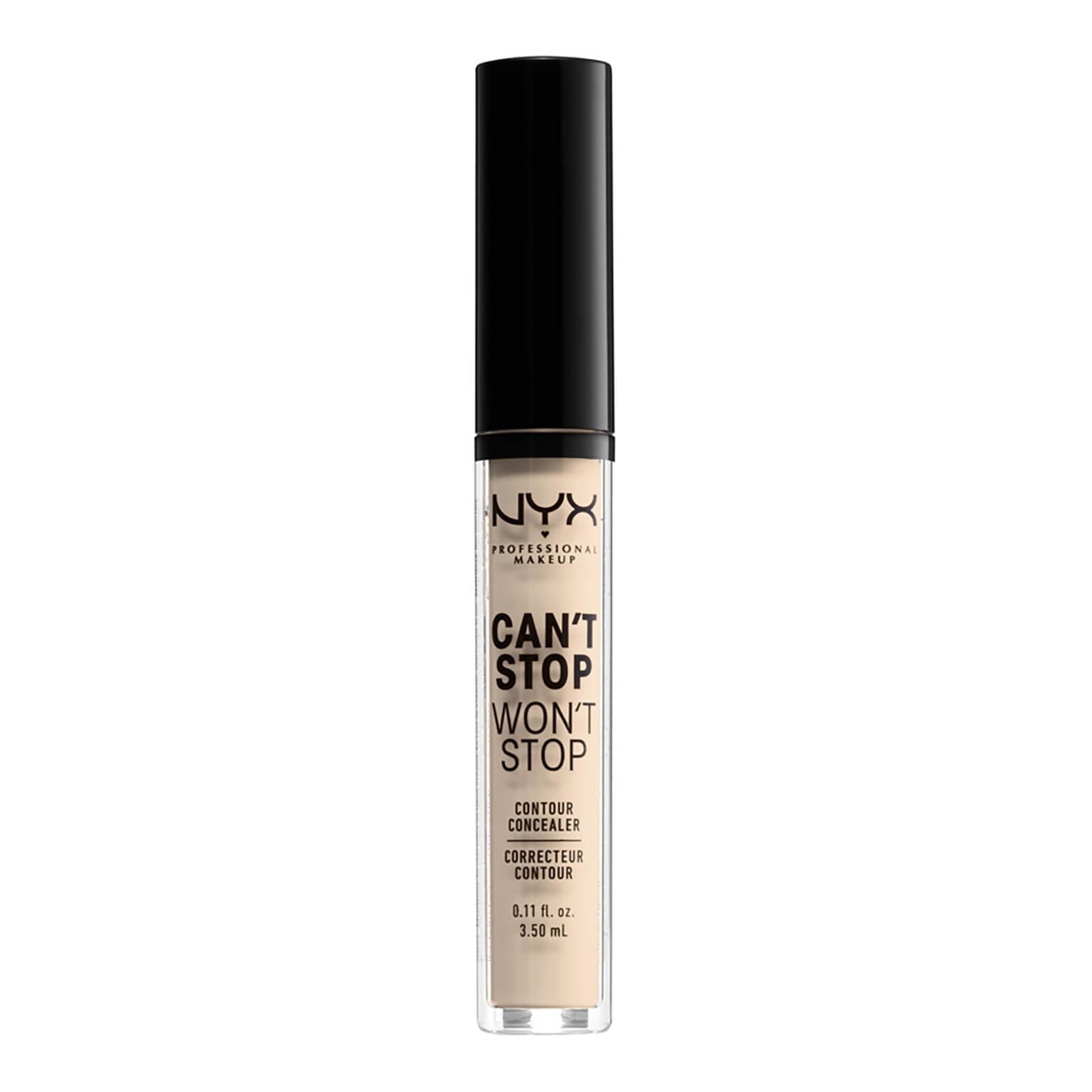 NYX Professional Makeup Can't Stop Won't Stop Contour Concealer (Various Shades) - Fair
