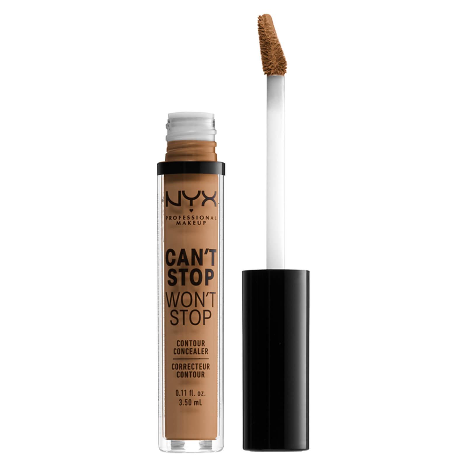 NYX Professional Makeup Can't Stop Won't Stop Contour Concealer (Various Shades) - Neutral Tan