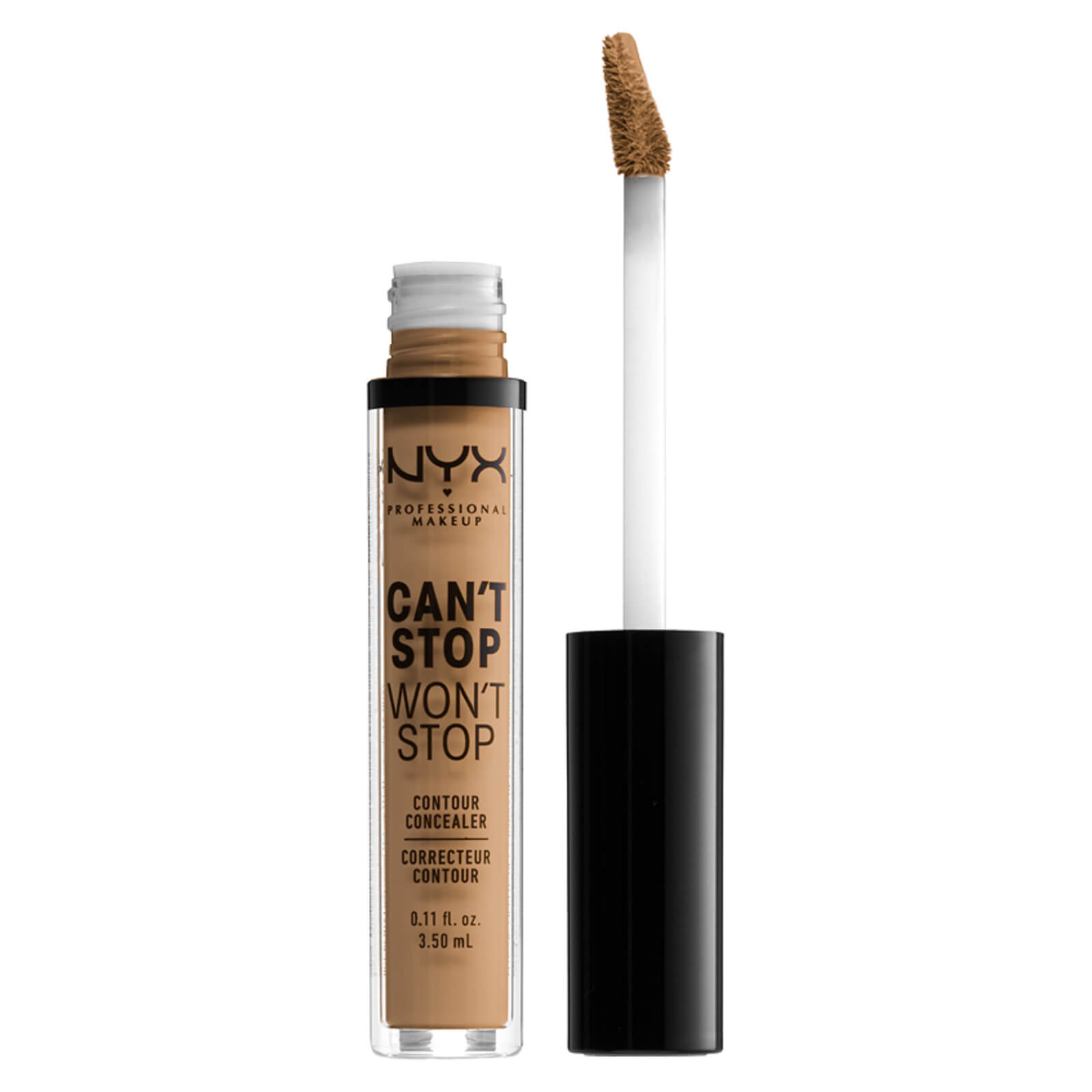 NYX Professional Makeup Can't Stop Won't Stop Contour Concealer (Various Shades) - Golden