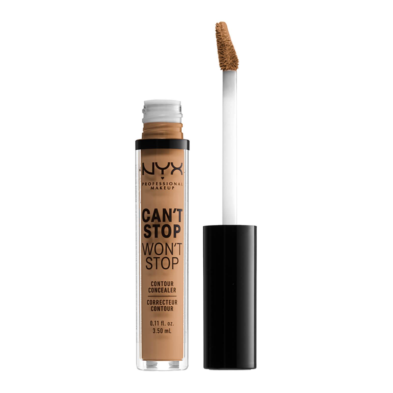 NYX Professional Makeup Can't Stop Won't Stop Contour Concealer (Various Shades) - Golden Honey