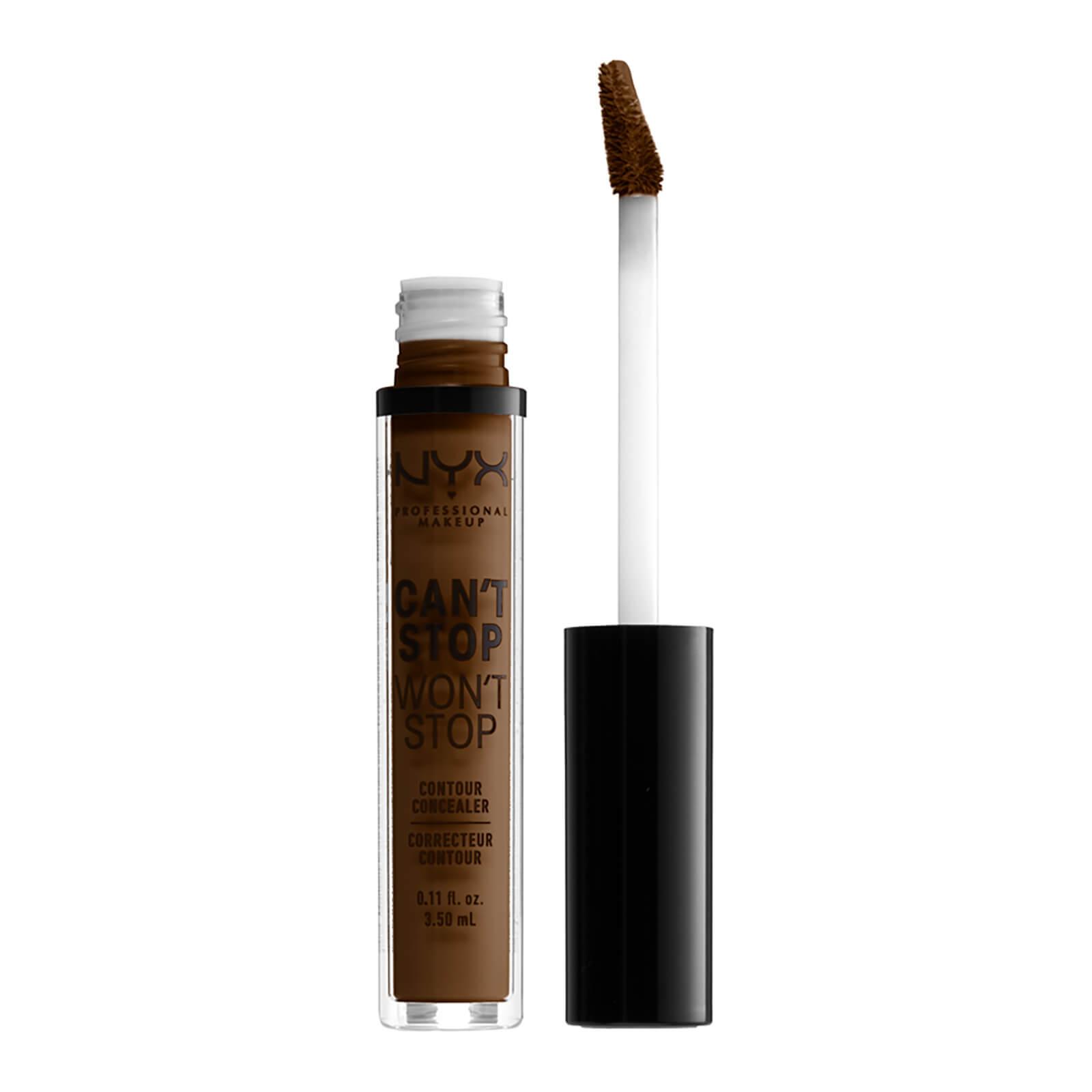 nyx professional makeup can't stop won't stop contour concealer (various shades) - walnut