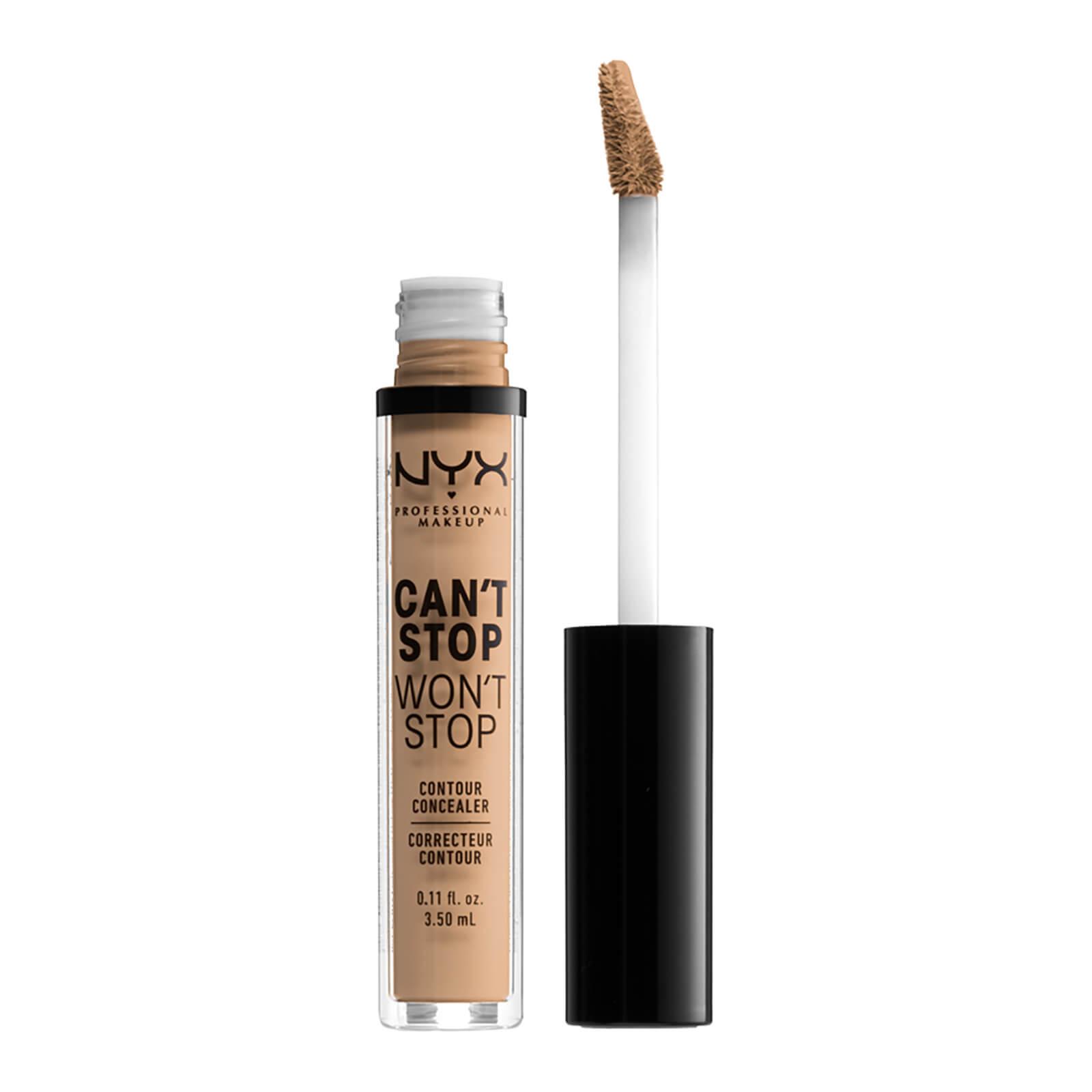 NYX Professional Makeup Can't Stop Won't Stop Contour Concealer (Various Shades) - Medium Olive