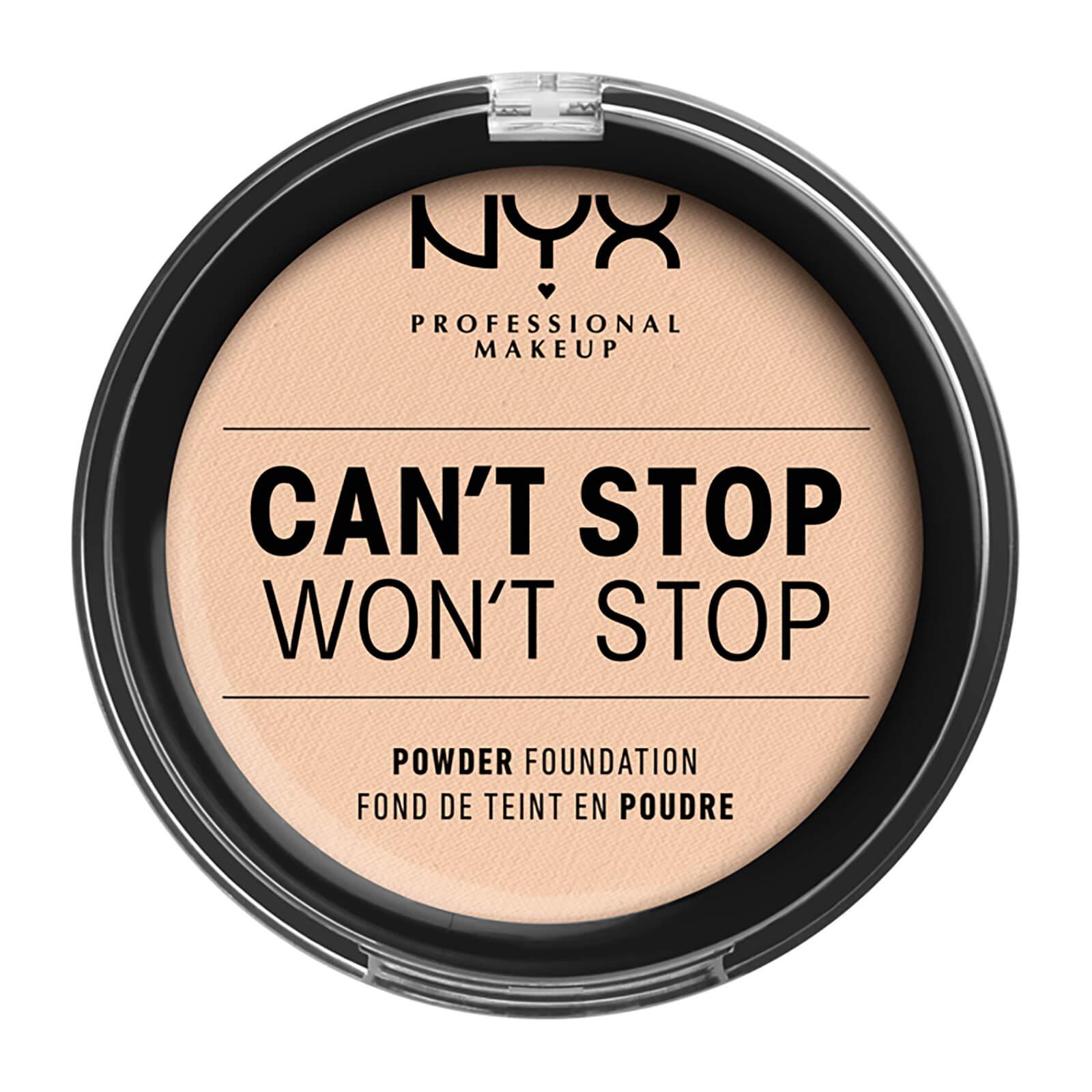 Купить NYX Professional Makeup Can't Stop Won't Stop Powder Foundation (Various Shades) - Light Ivory