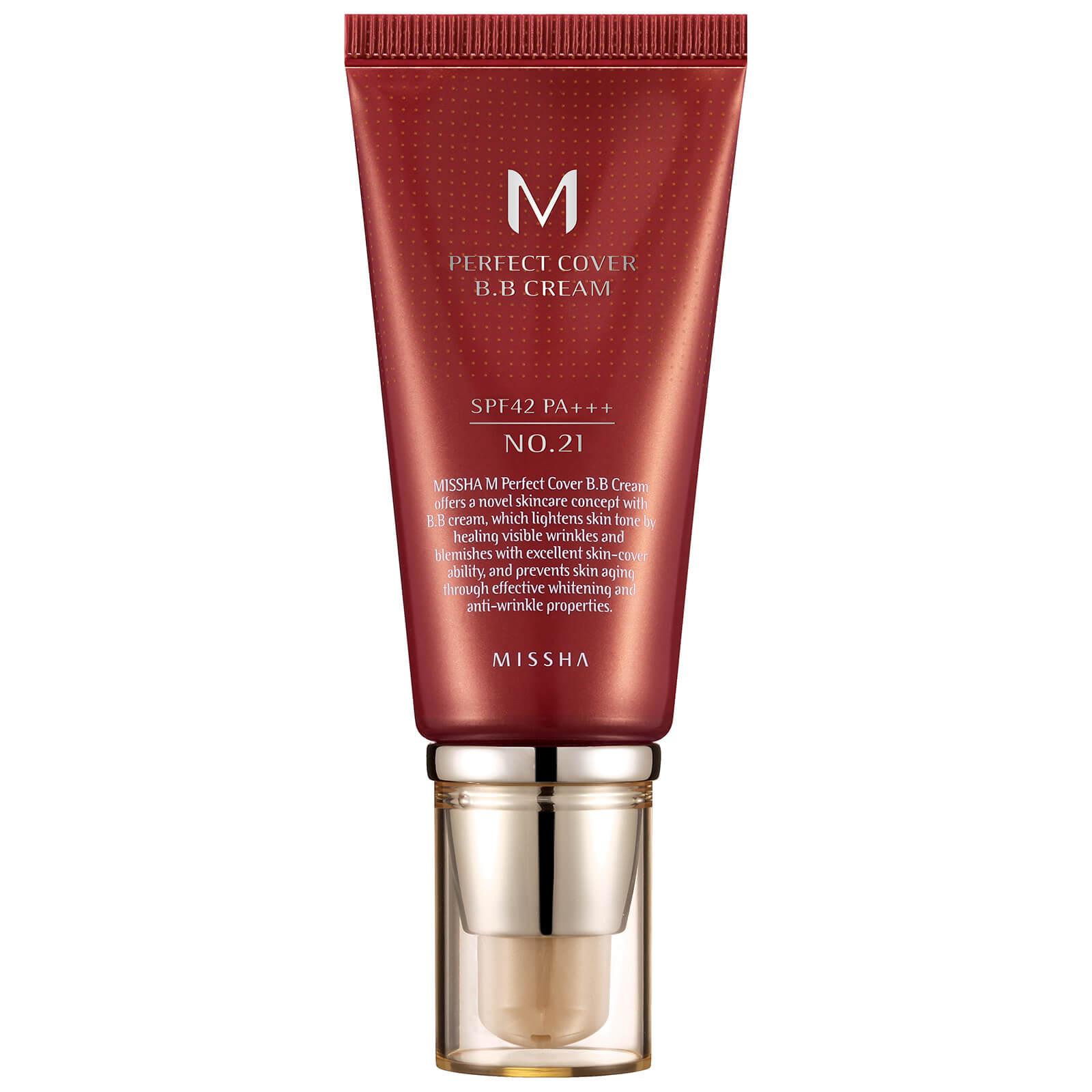 Купить MISSHA M Perfect Cover BB Cream SPF42/PA+++ - No.21/Light Beige 50ml