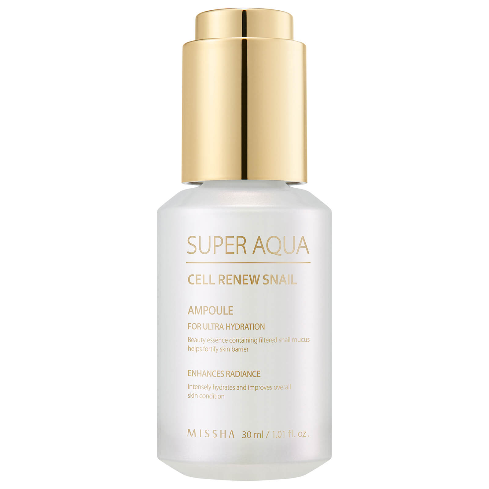 Купить MISSHA Super Aqua Cell Renew Snail Ampoule 30ml