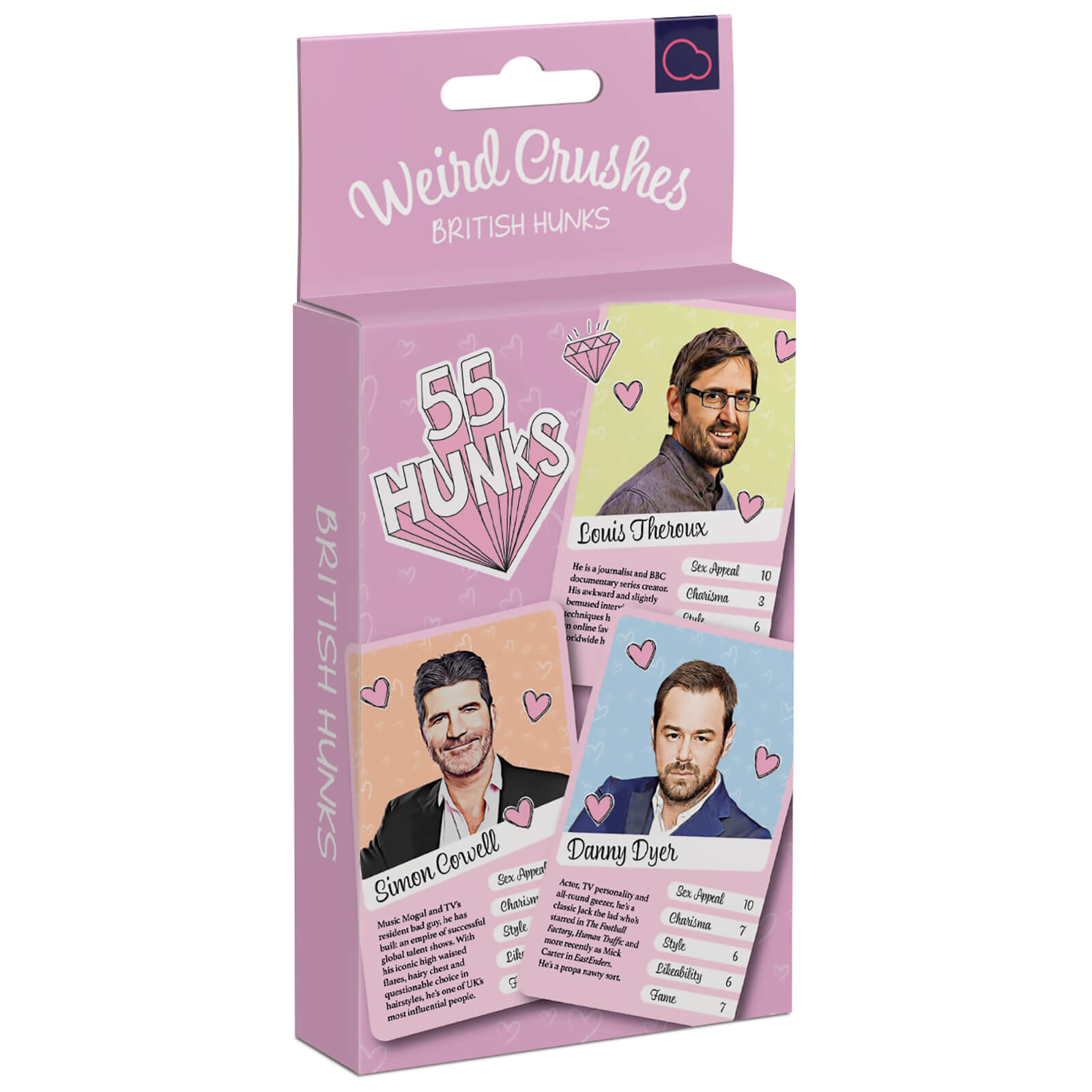 Image of Weird Crushes British Hunks Card Game