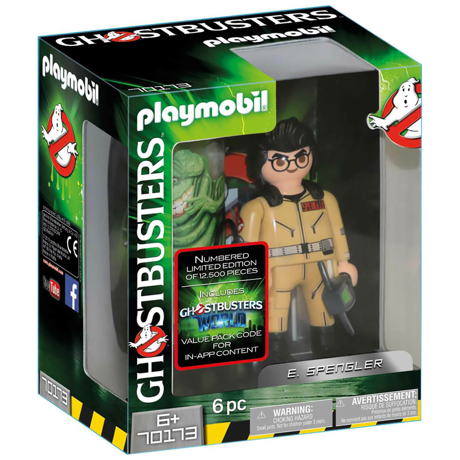 Playmobil Ghostbusters Collectors Edition E. Spengler - Limited and individually numbered (70173)