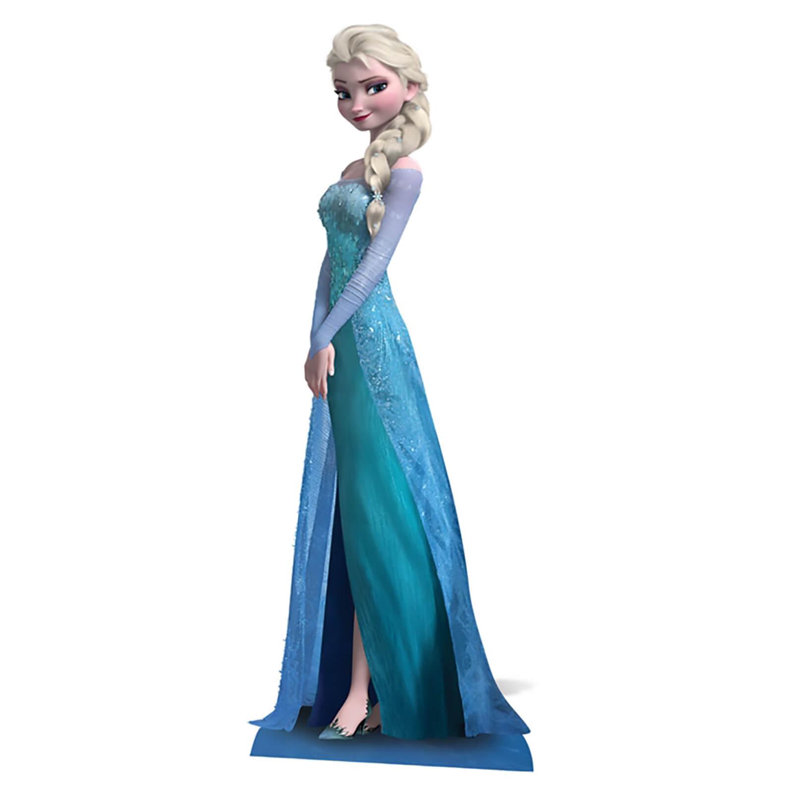 Image of Disney Frozen Elsa Mini Cardboard Cut Out