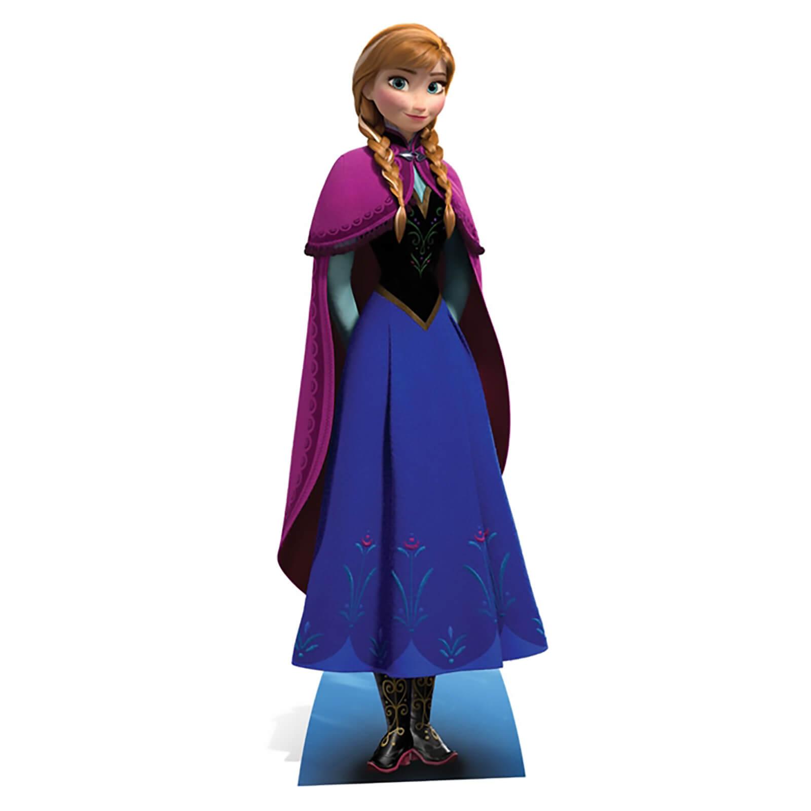 Image of Disney Frozen Anna Mini Cardboard Cut Out