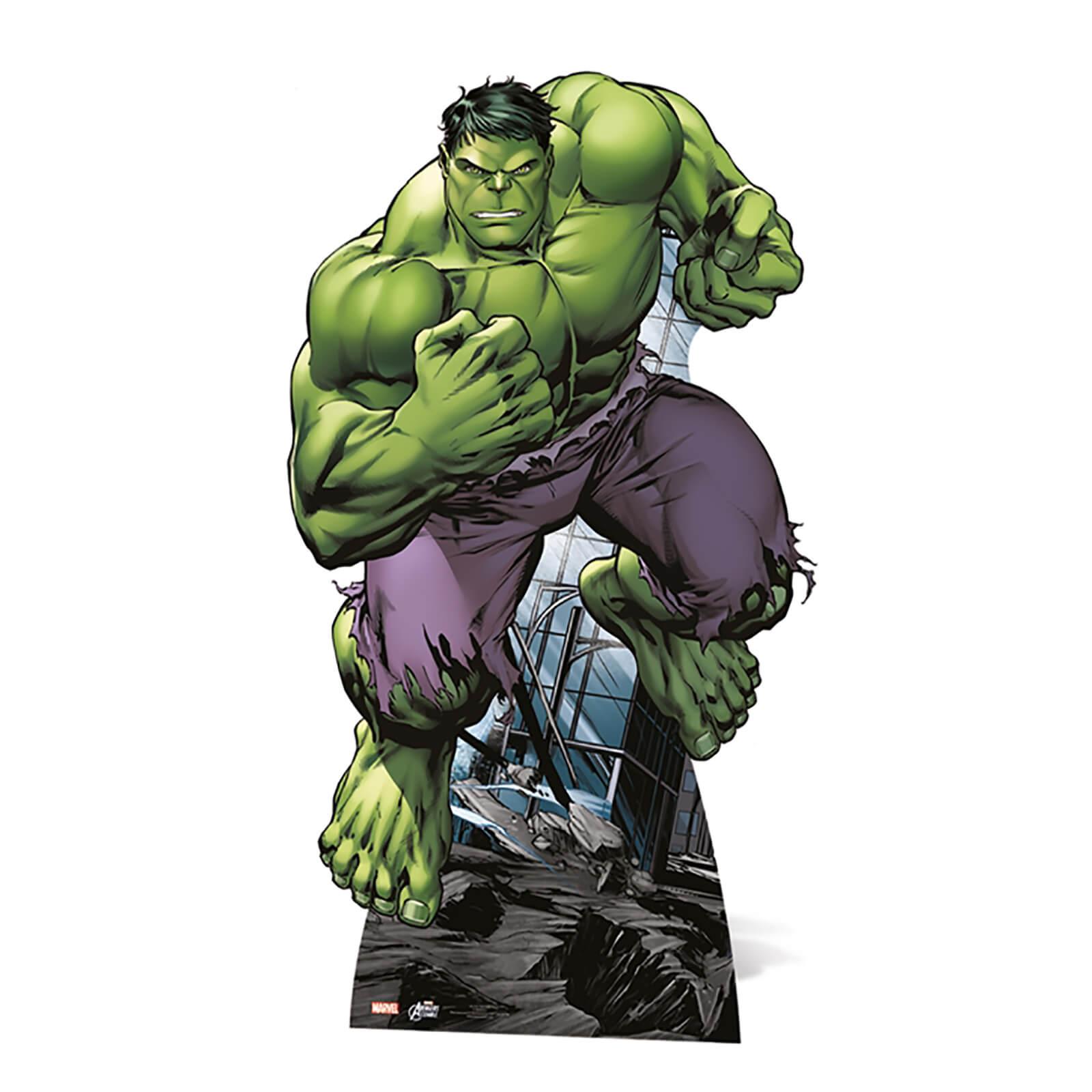Image of Marvel - Hulk Mini Cardboard Cut Out