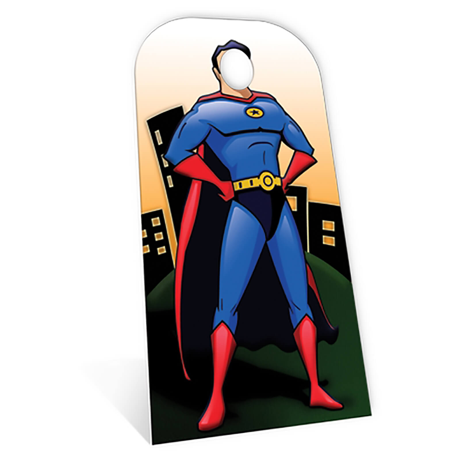 Image of Superhero Stand- In Cardboard Cut Out