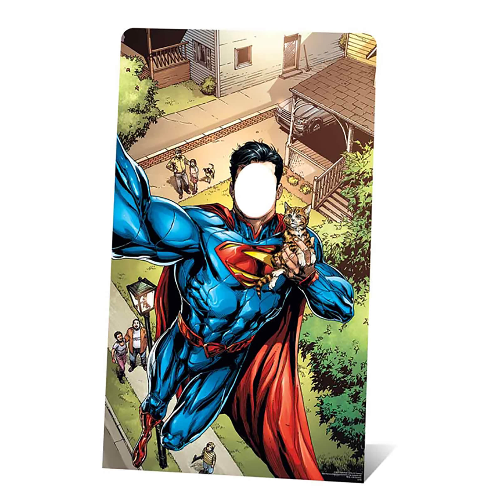 Image of DC - Superman Selfie Stand-In Cardboard Cut Out