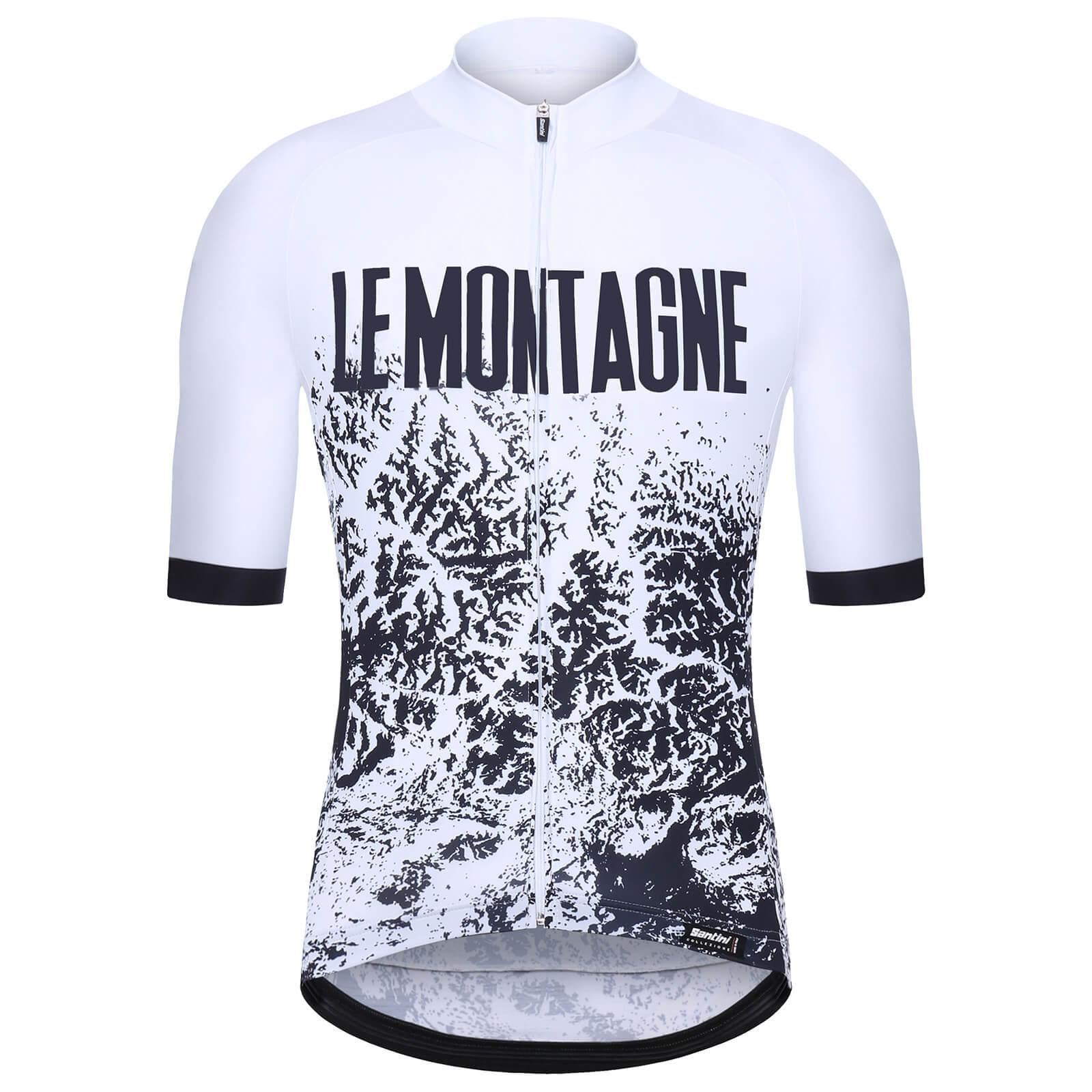 Santini Alpi Jersey - M - White