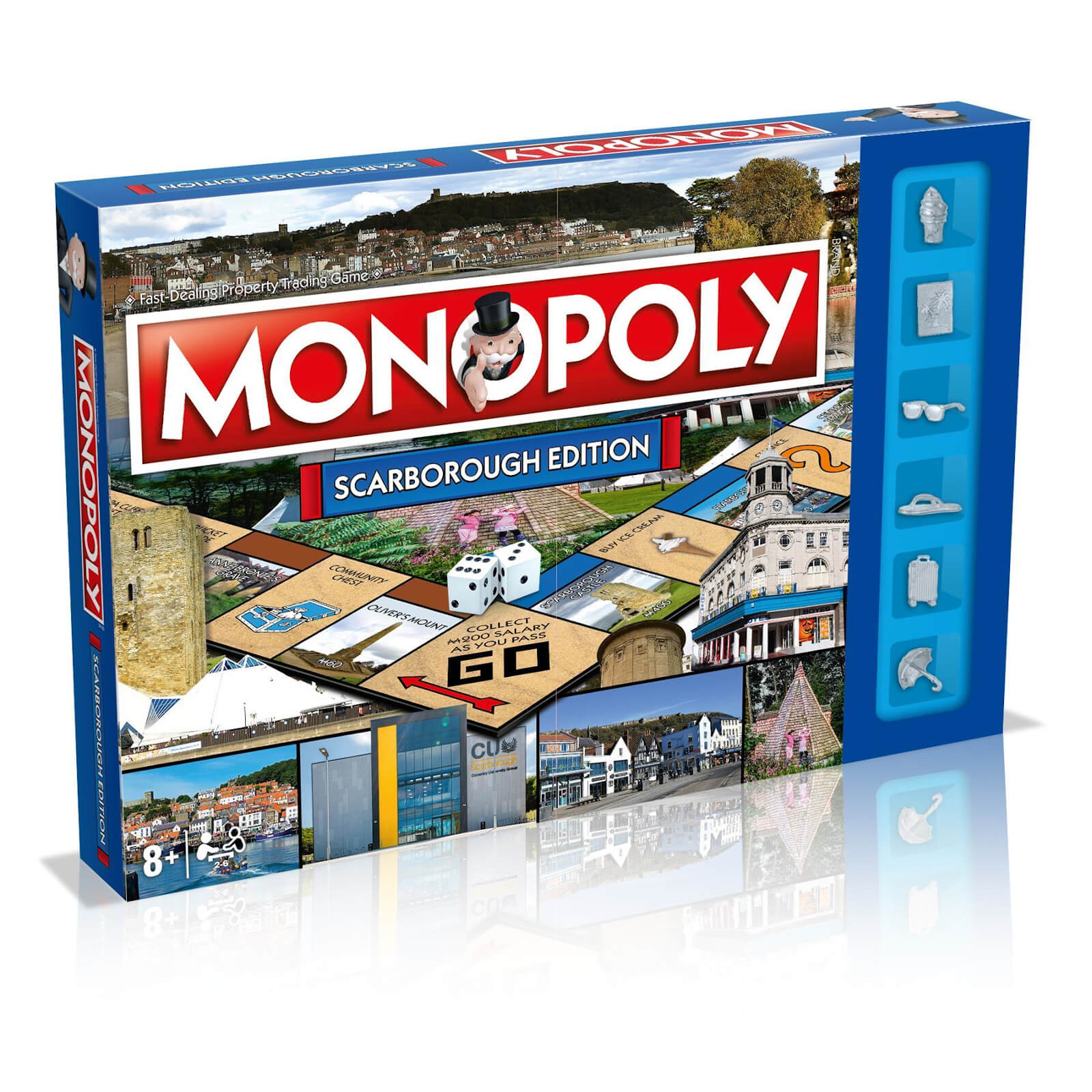 Image of Monopoly Board Game - Scarborough Edition