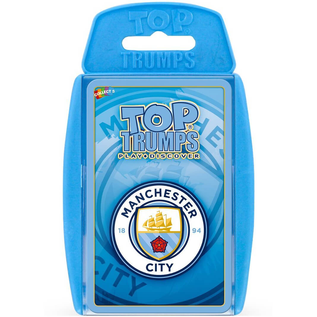 Image of Top Trumps Card Game - Manchester City F.C Edition