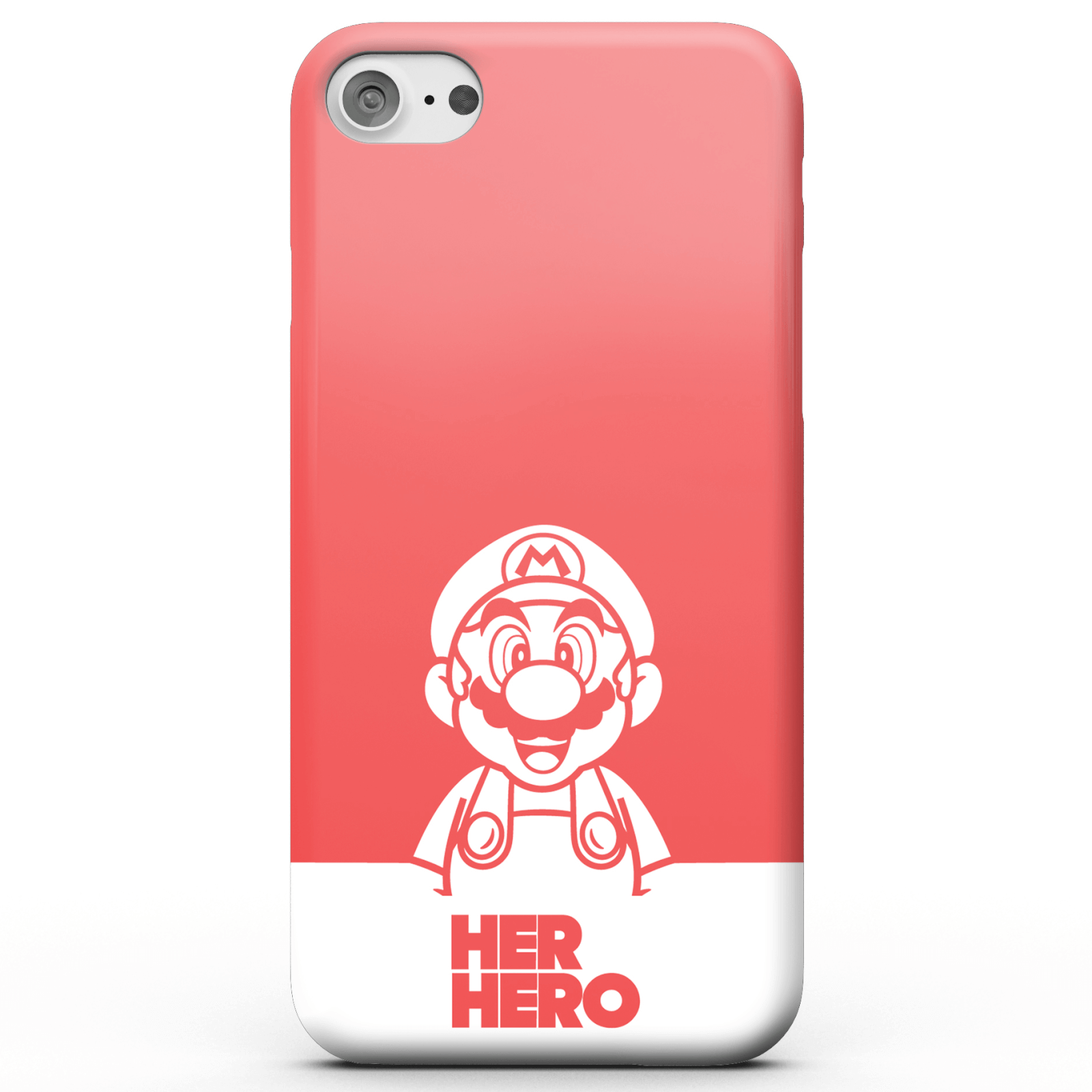 Super Mario Her Hero Phone Case for iPhone and Android - iPhone 6 Plus - Tough Case - Gloss