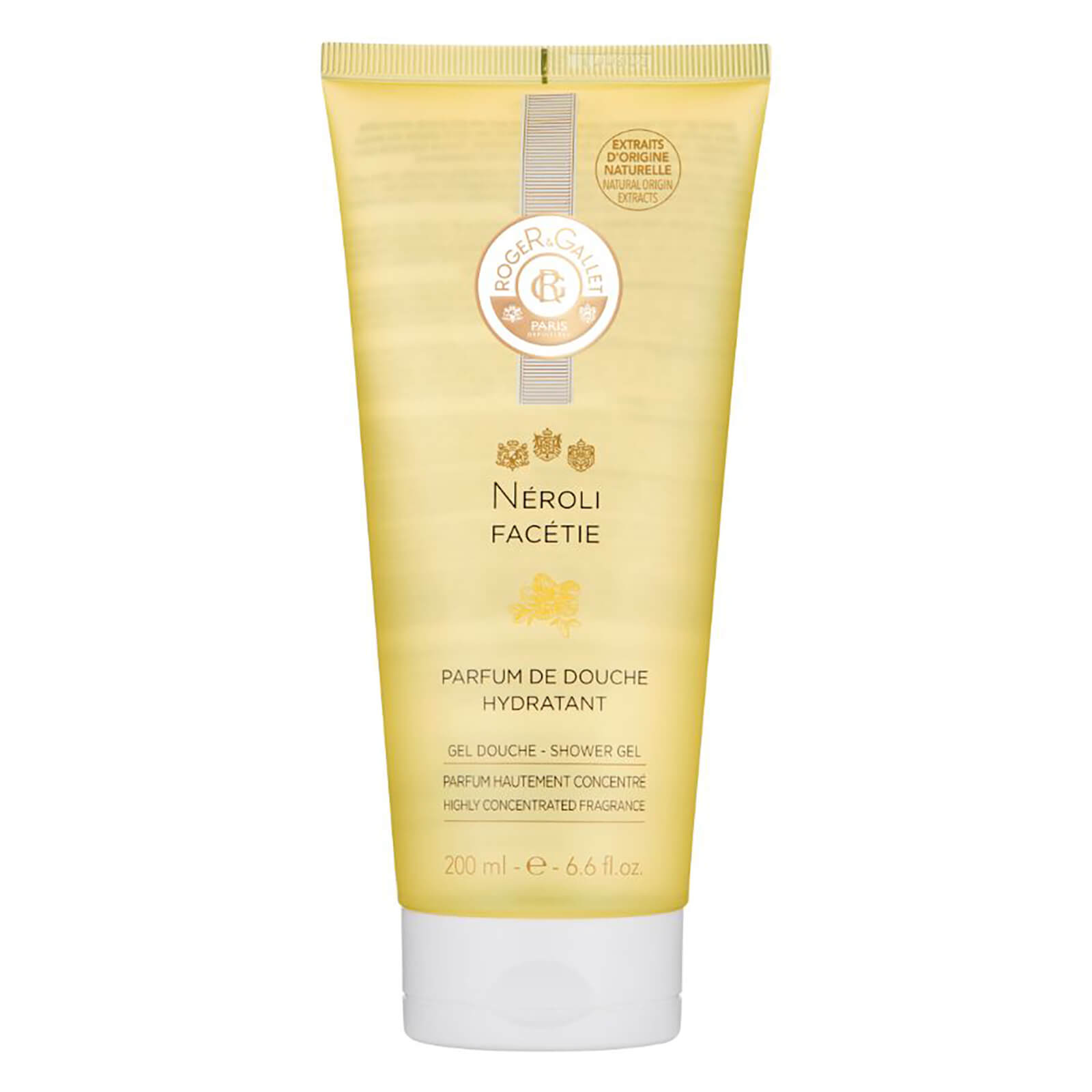 Roger&Gallet Neroli Facétie Shower Gel and Bubble Bath 200ml